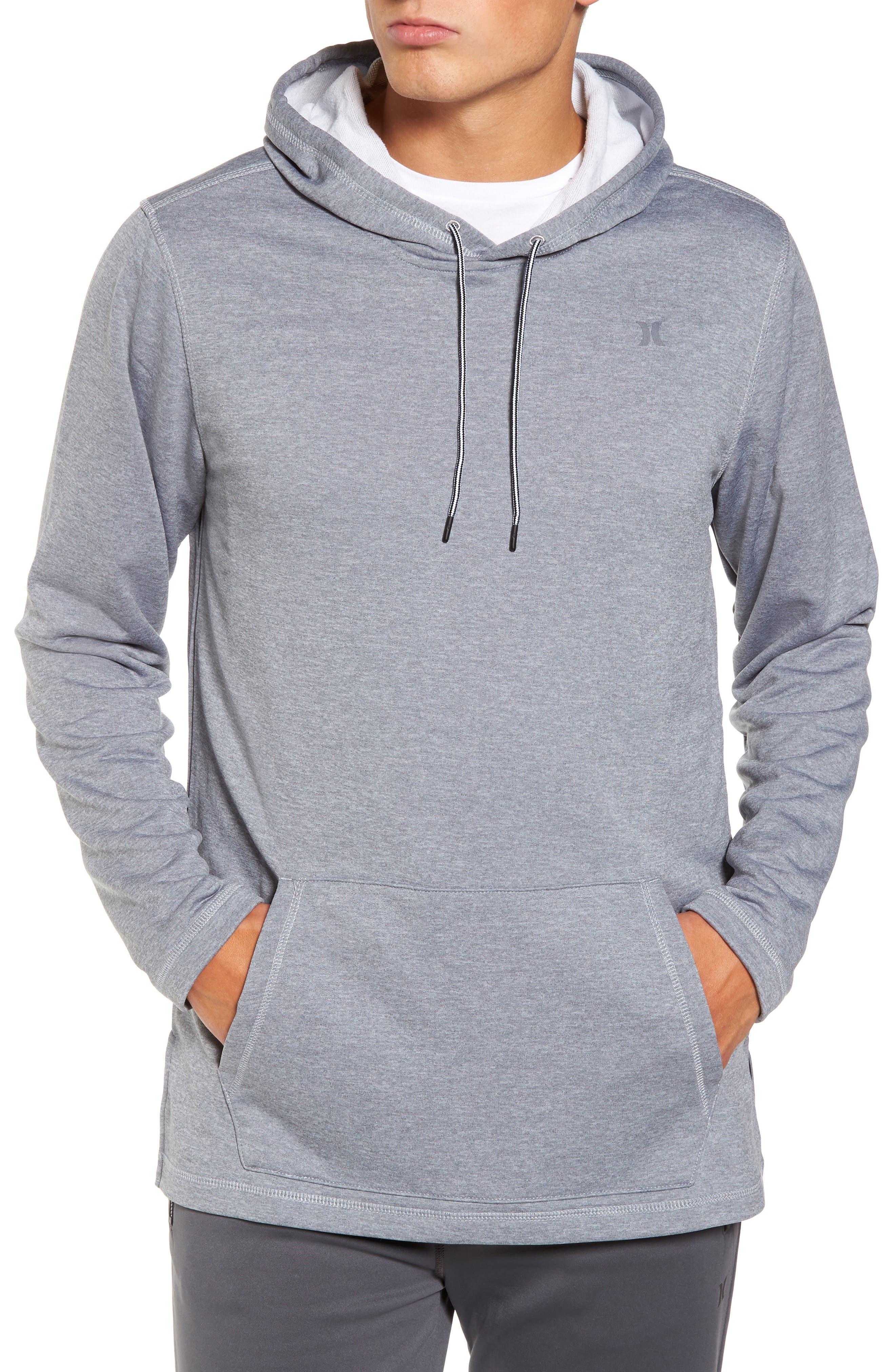 Dri-FIT Solar Hoodie,                         Main,                         color, Cool Grey