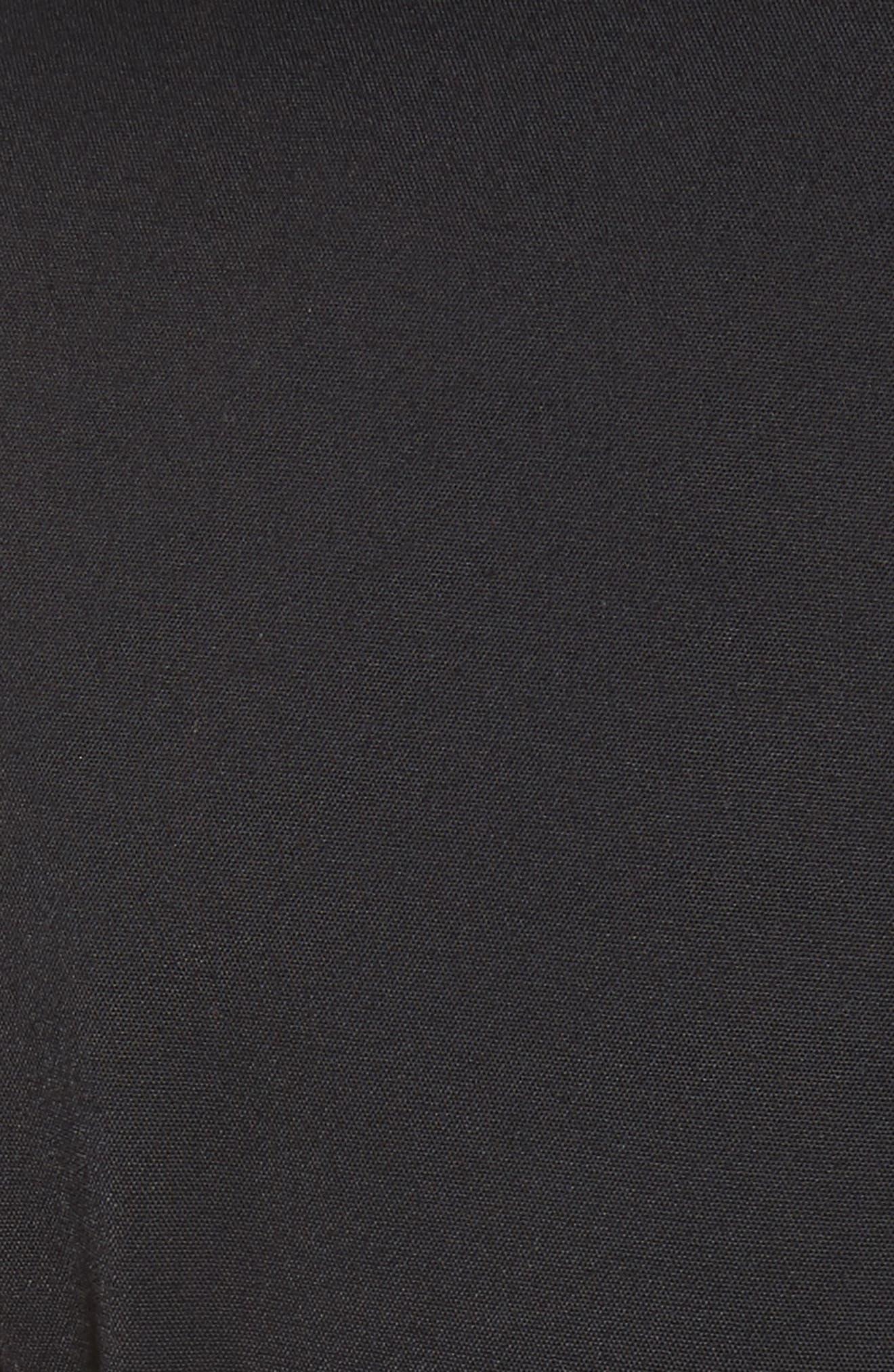 Side Cutout Jumpsuit,                             Alternate thumbnail 5, color,                             Black