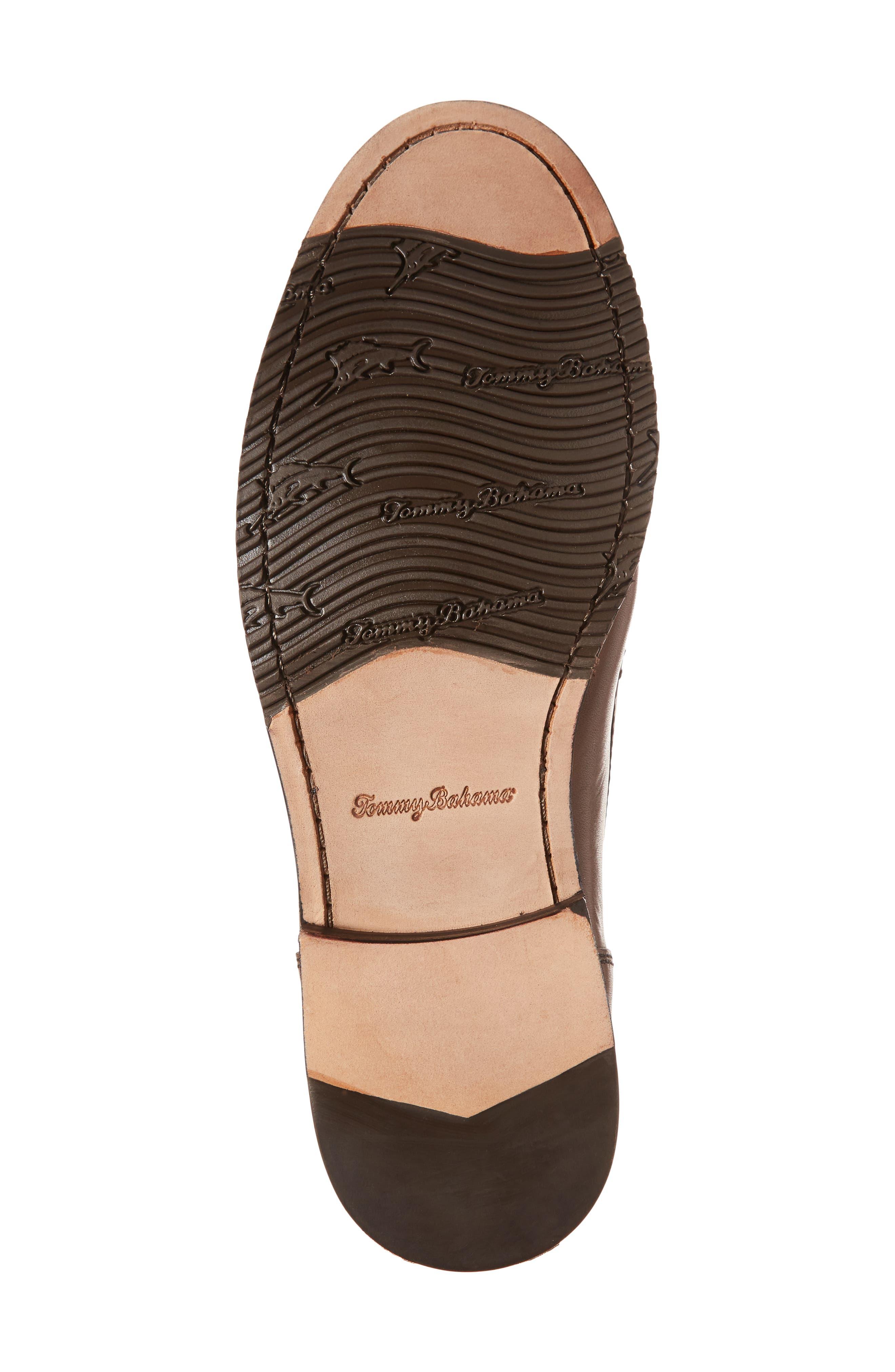 Maya Bay Bit Loafer,                             Alternate thumbnail 6, color,                             Brown Leather