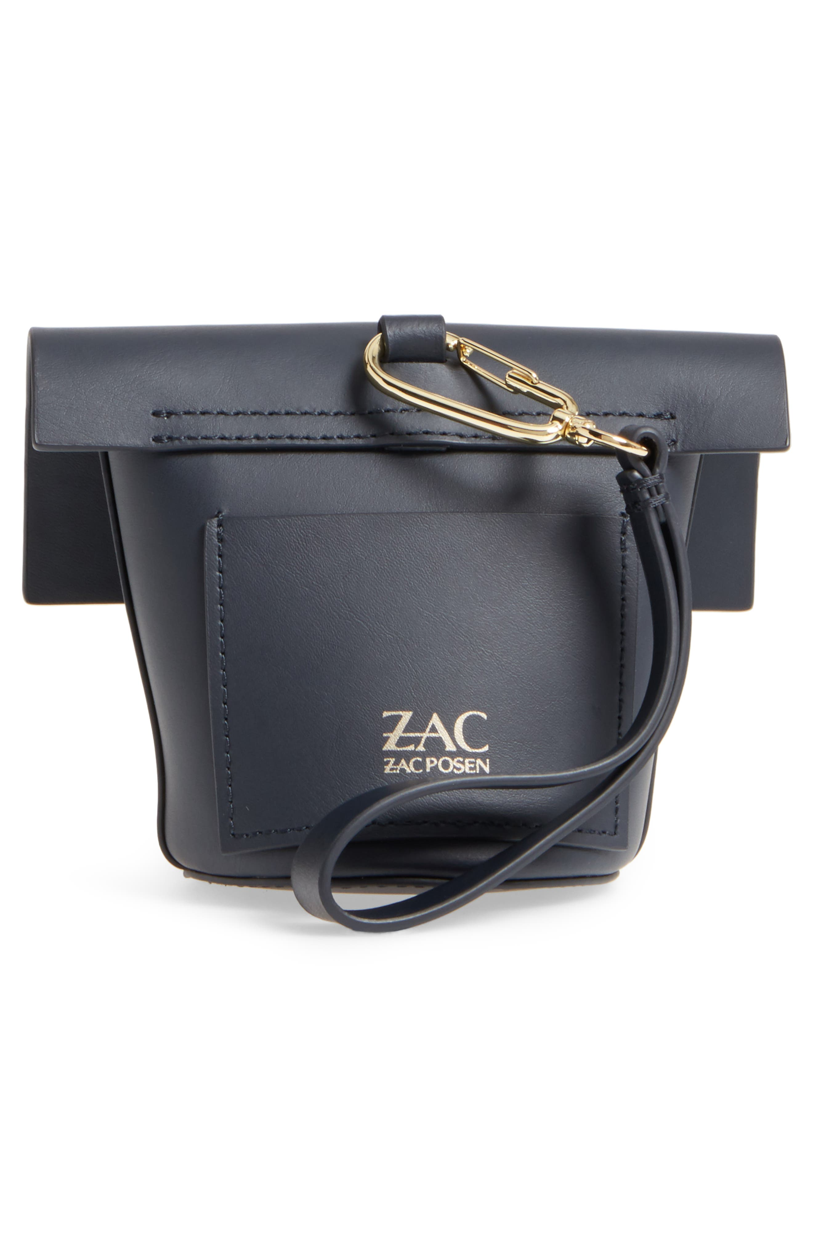 Alternate Image 4  - ZAC Zac Posen Belay Calfskin Leather Museum Wristlet
