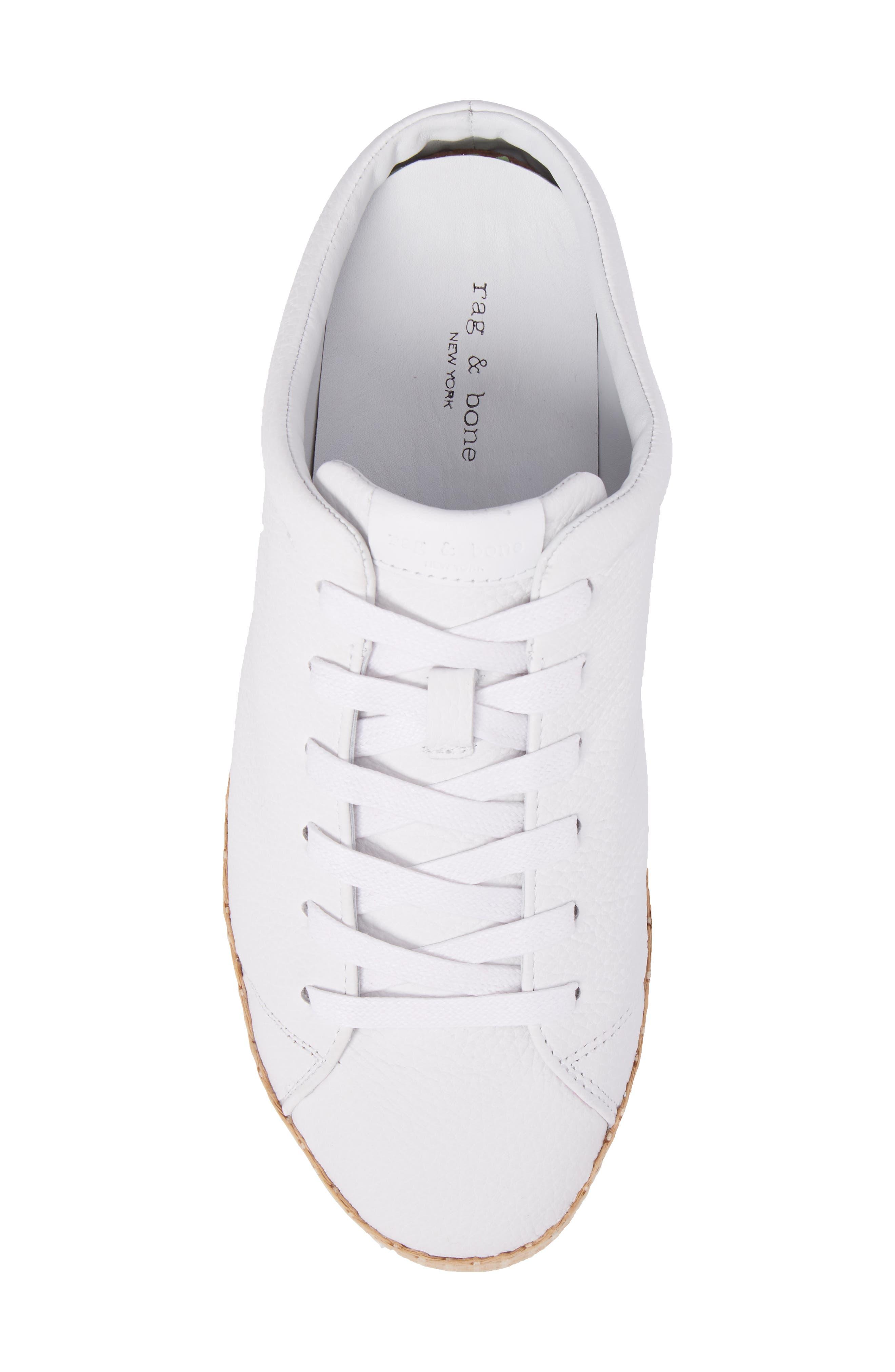 RB1 Slip-On Sneaker,                             Alternate thumbnail 5, color,                             White