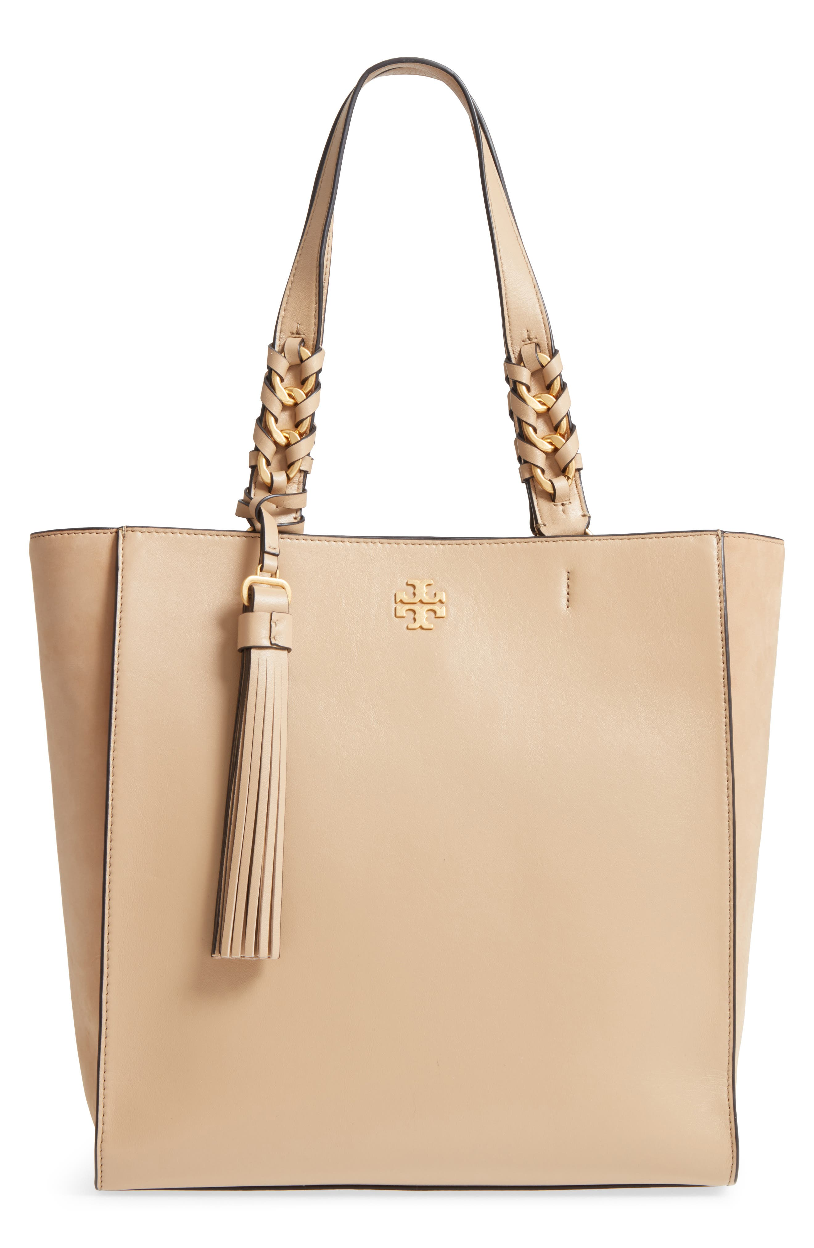 Tory Burch Brooke Leather Tote