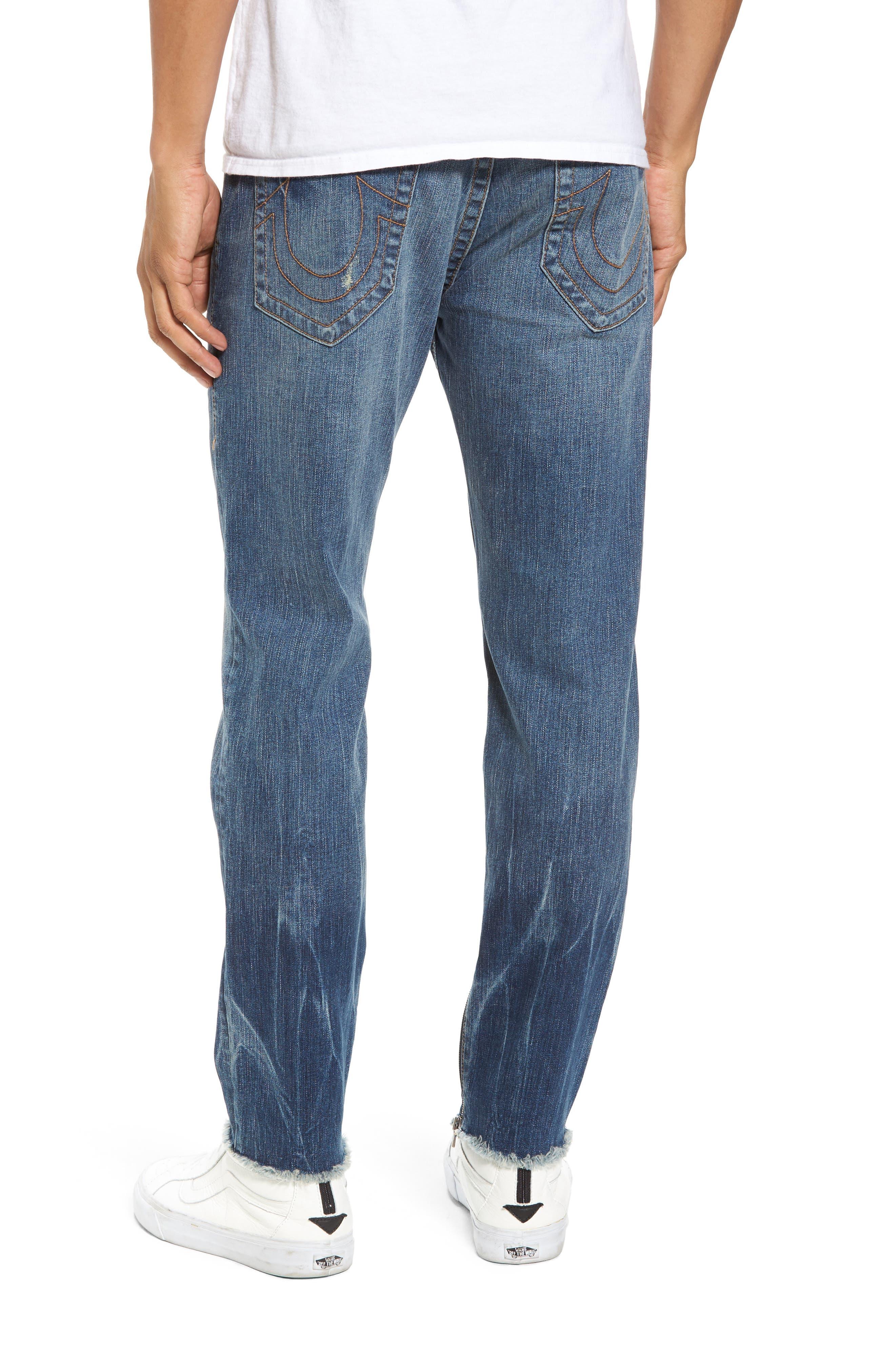 Finn Frayed Skinny Fit Jeans,                             Alternate thumbnail 2, color,                             Envy