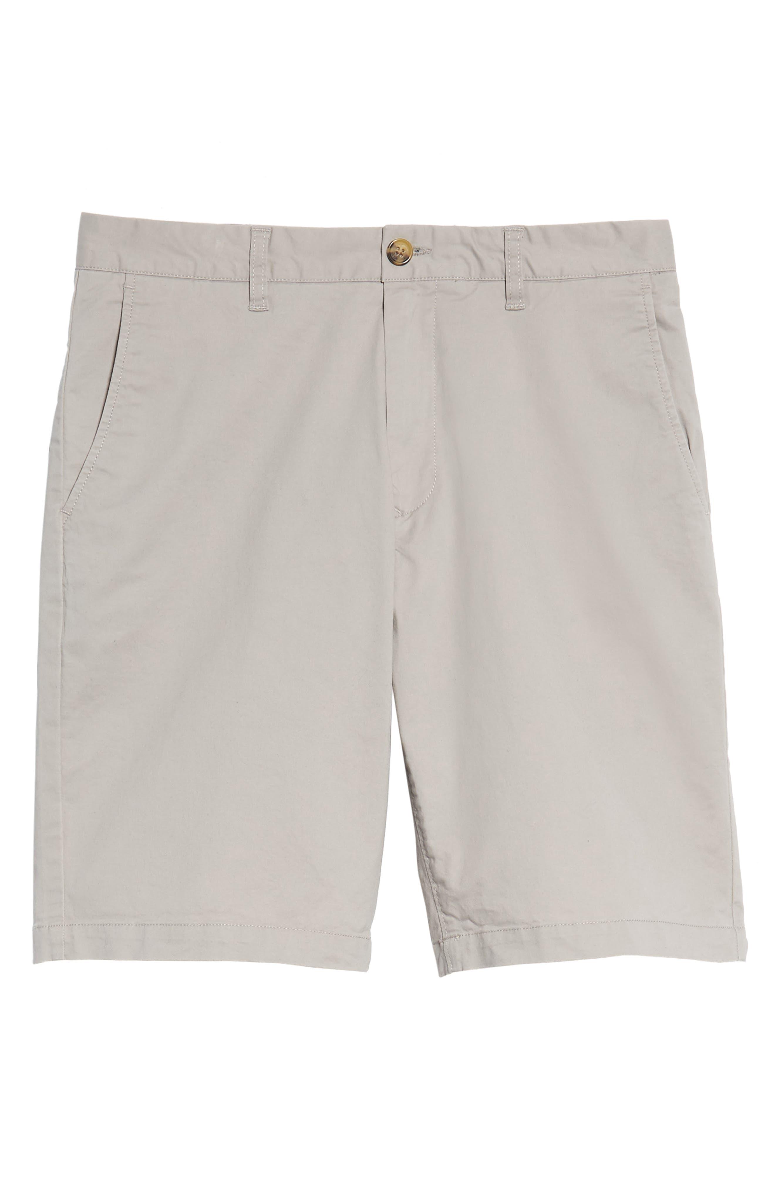 Alternate Image 6  - 7 Diamonds Slim Fit Brushed Twill Shorts