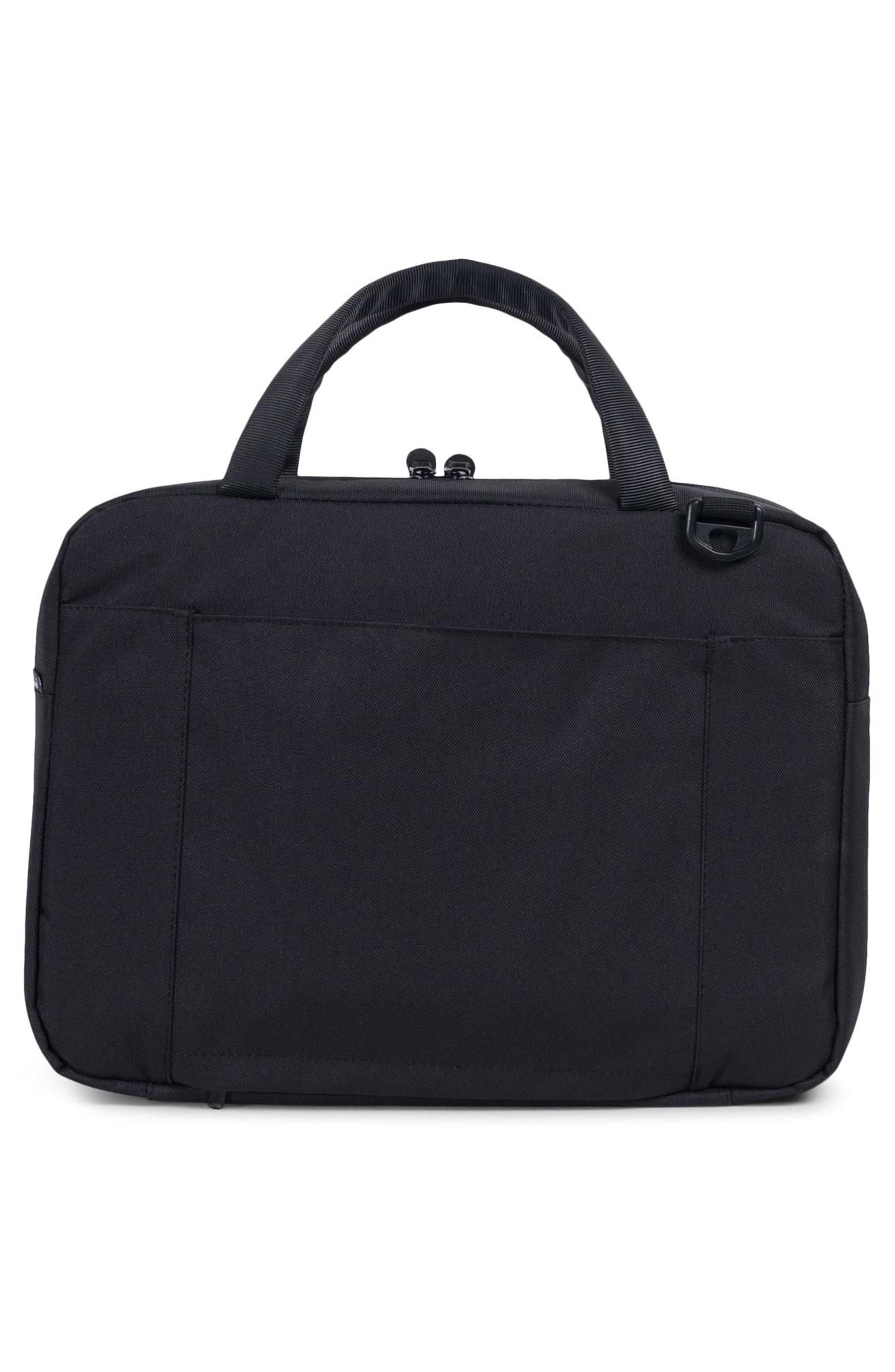 Gibson Messenger Bag,                             Alternate thumbnail 2, color,                             Black