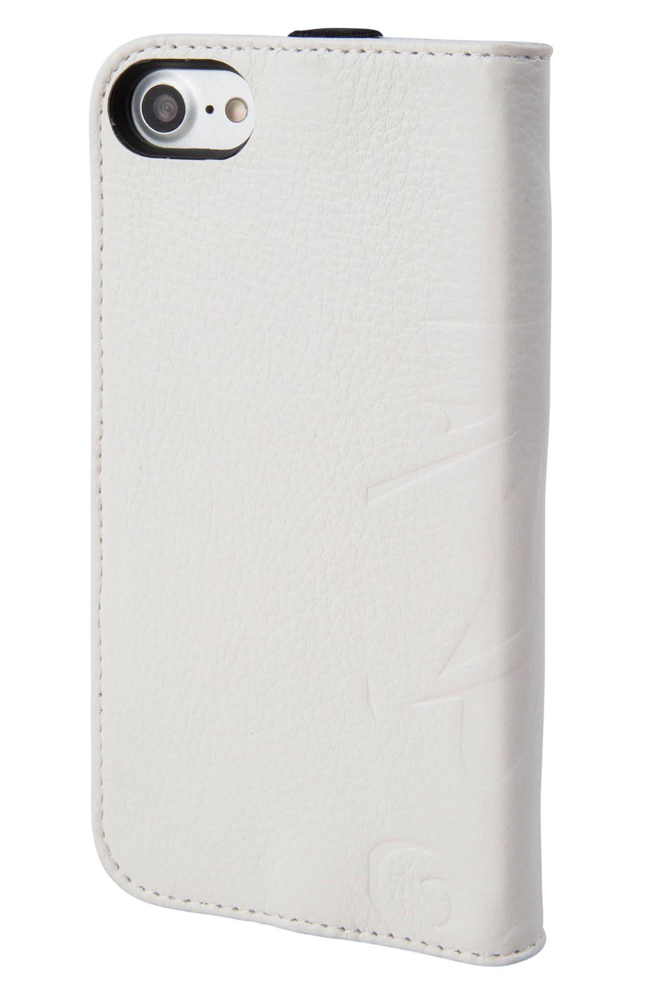 Stormtrooper iPhone 6/6s/7/8 Wallet Case,                             Alternate thumbnail 3, color,                             White