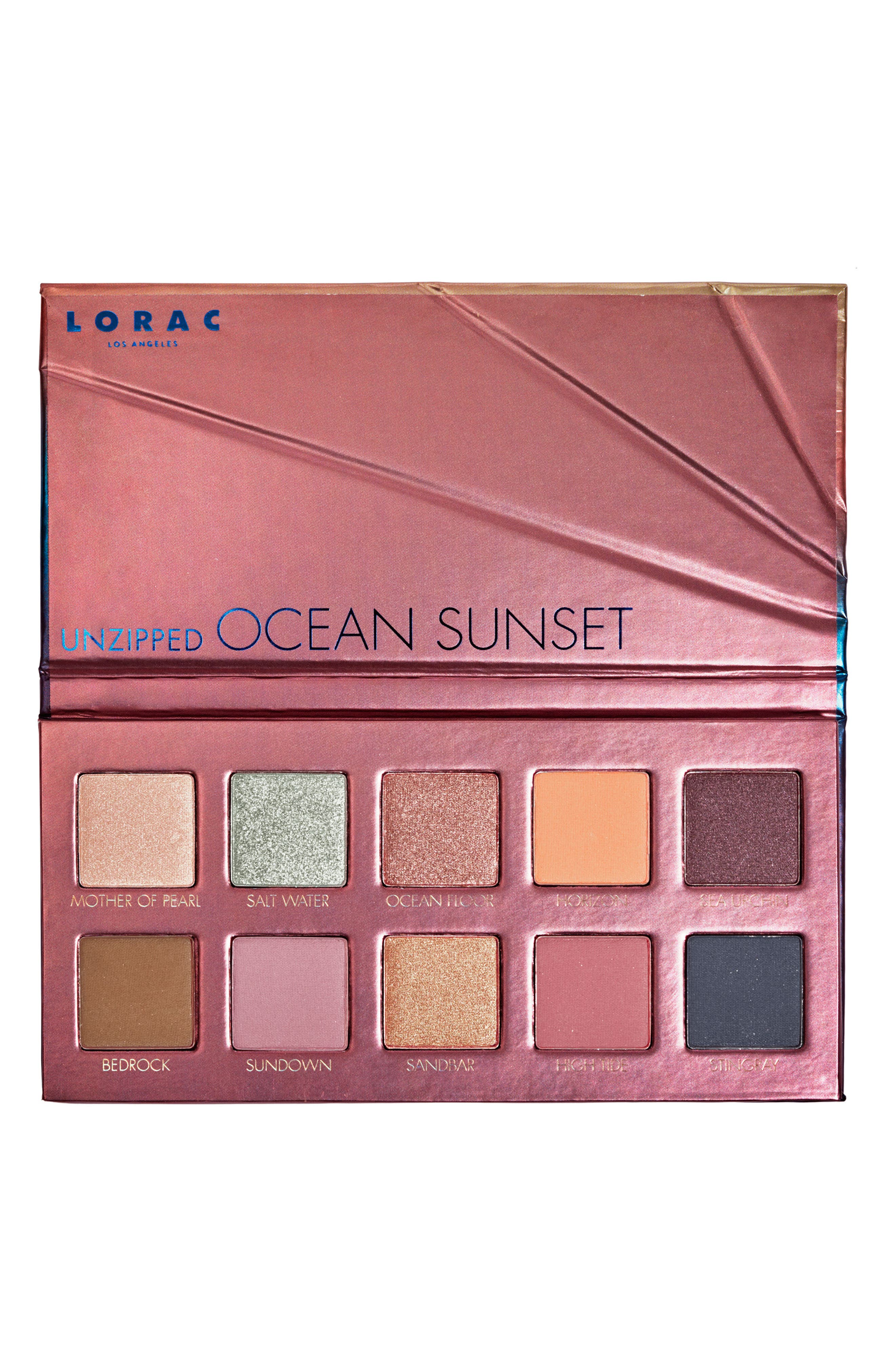 LORAC Unzipped Ocean Sunset Eyeshadow Palette (Limited Edition)