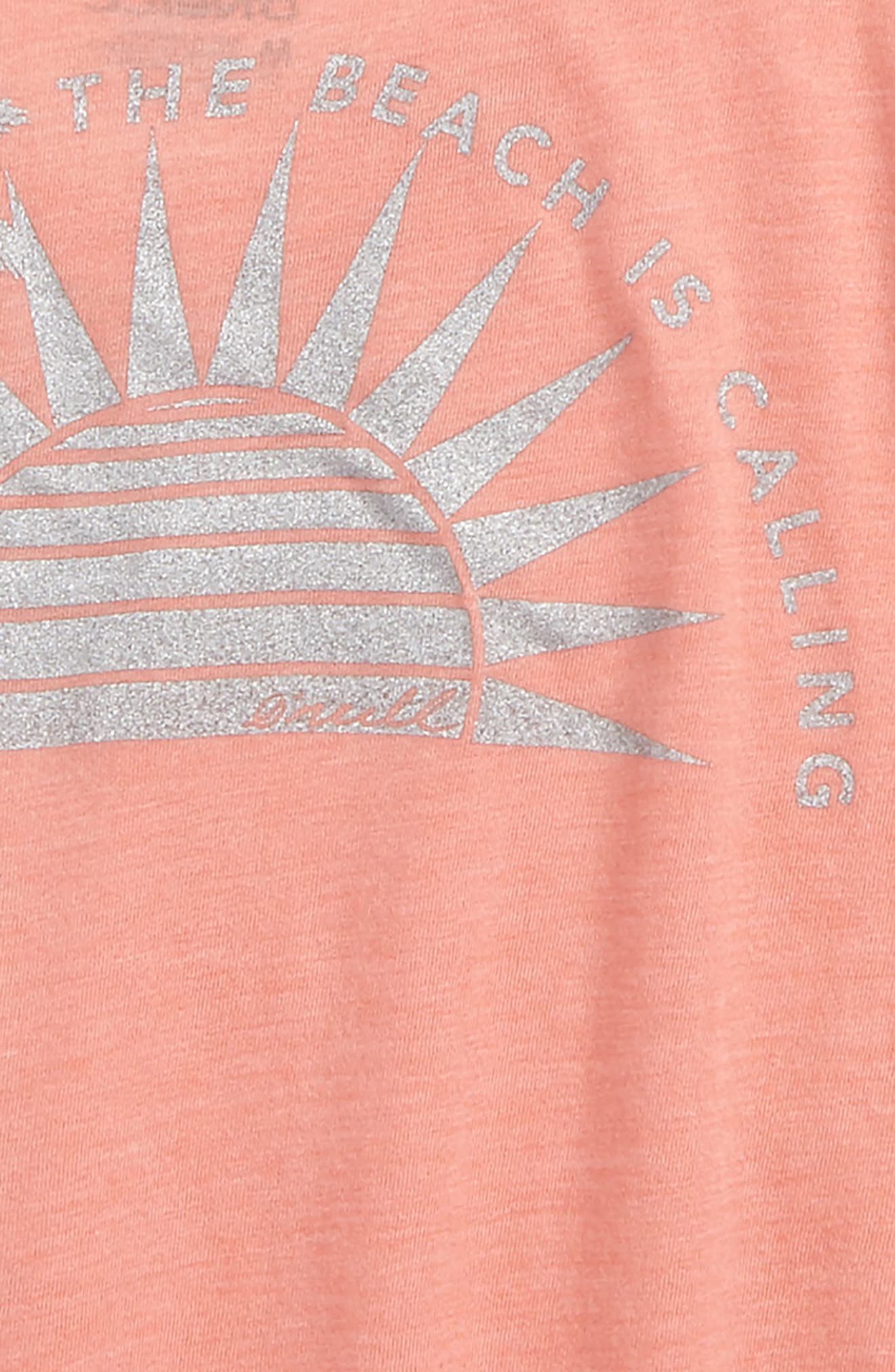 Sunny Side Graphic Tee,                             Alternate thumbnail 4, color,                             Terracotta- Cla