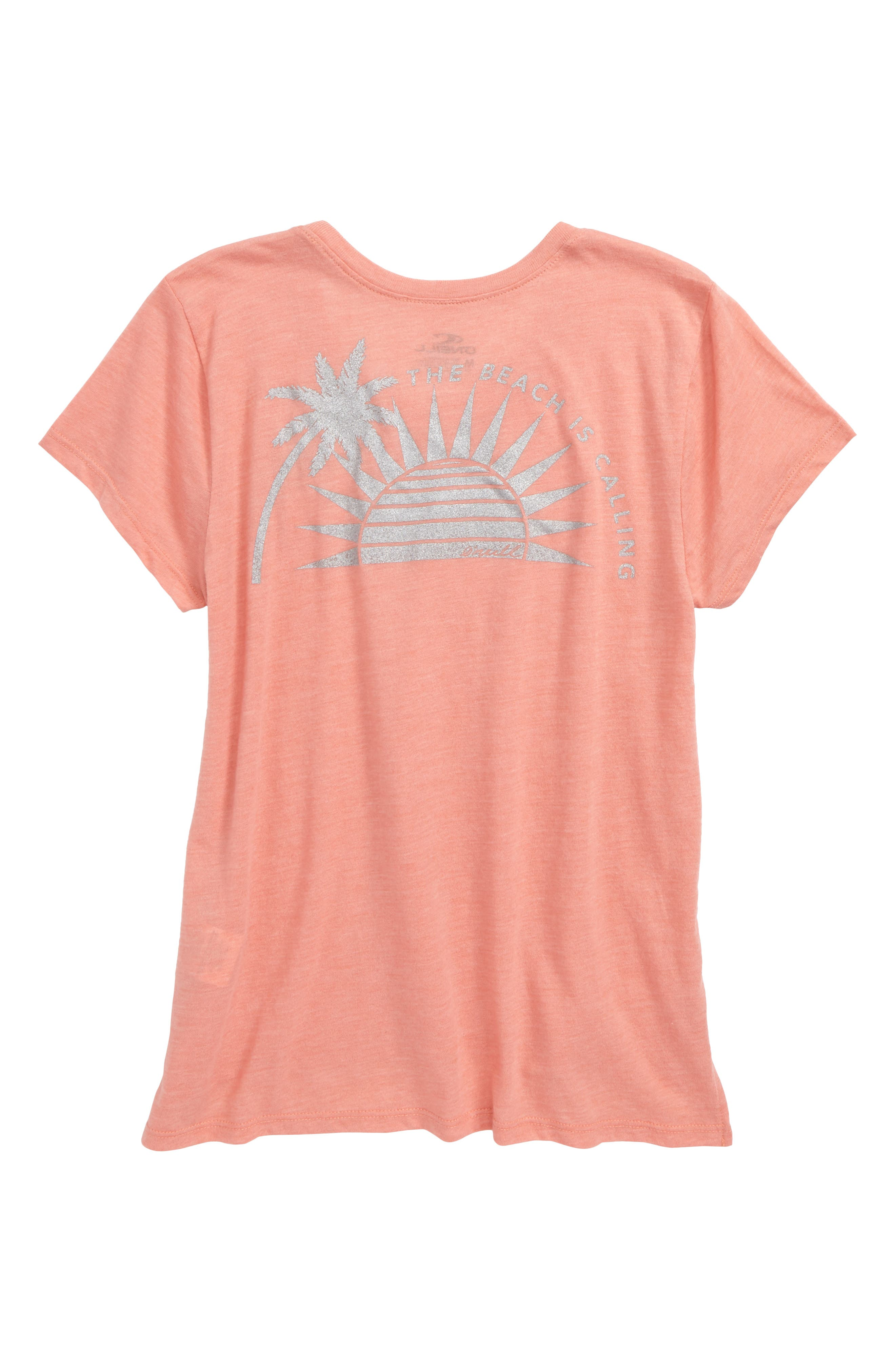 Sunny Side Graphic Tee,                             Alternate thumbnail 2, color,                             Terracotta- Cla