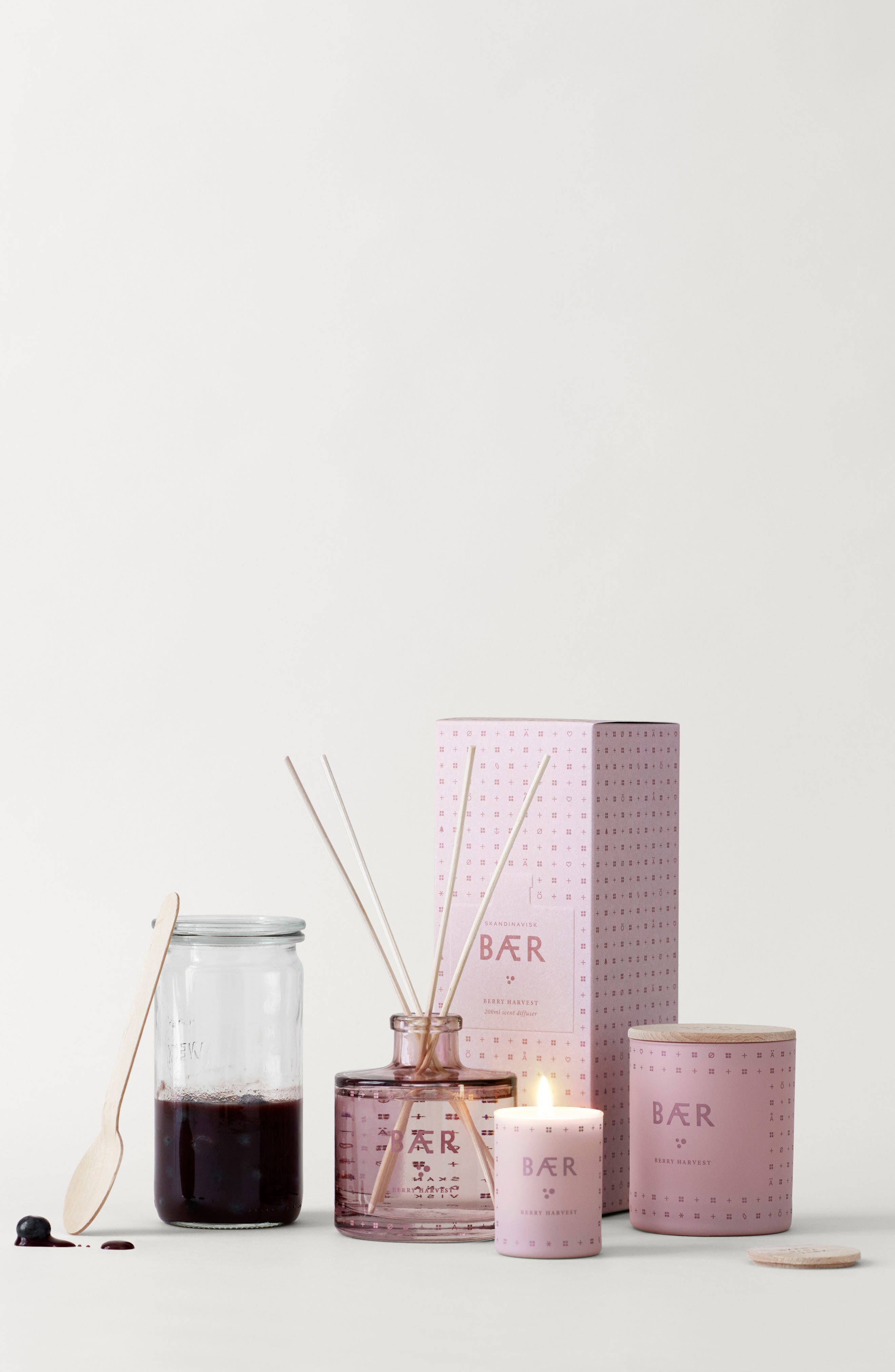 Reed Diffuser,                             Alternate thumbnail 2, color,                             Berry Harvest