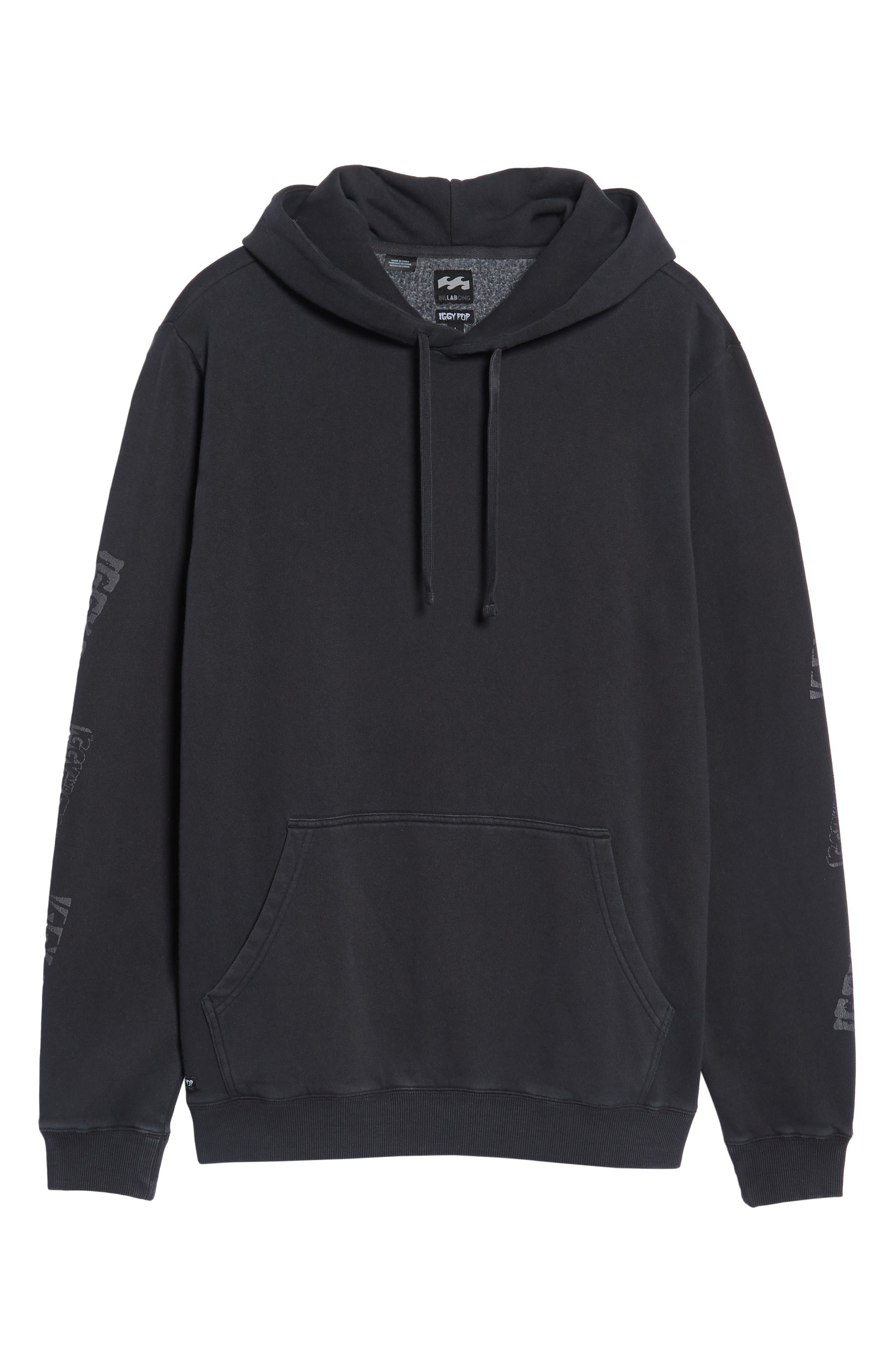 x Iggy Pop LAB Hoodie,                             Alternate thumbnail 5, color,                             Black
