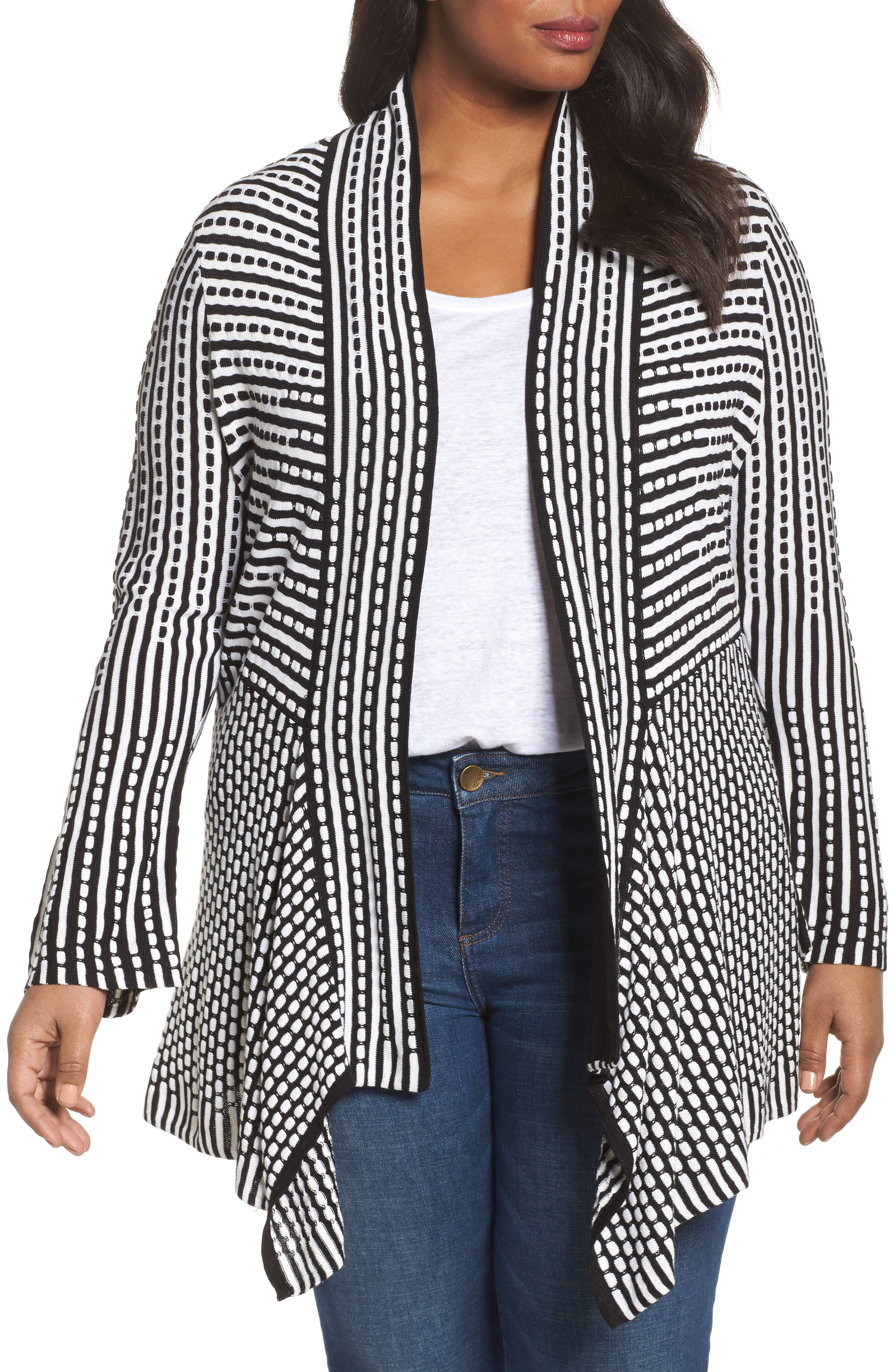 NIC+ZOE Ground Breaking Cardigan (Plus Size)