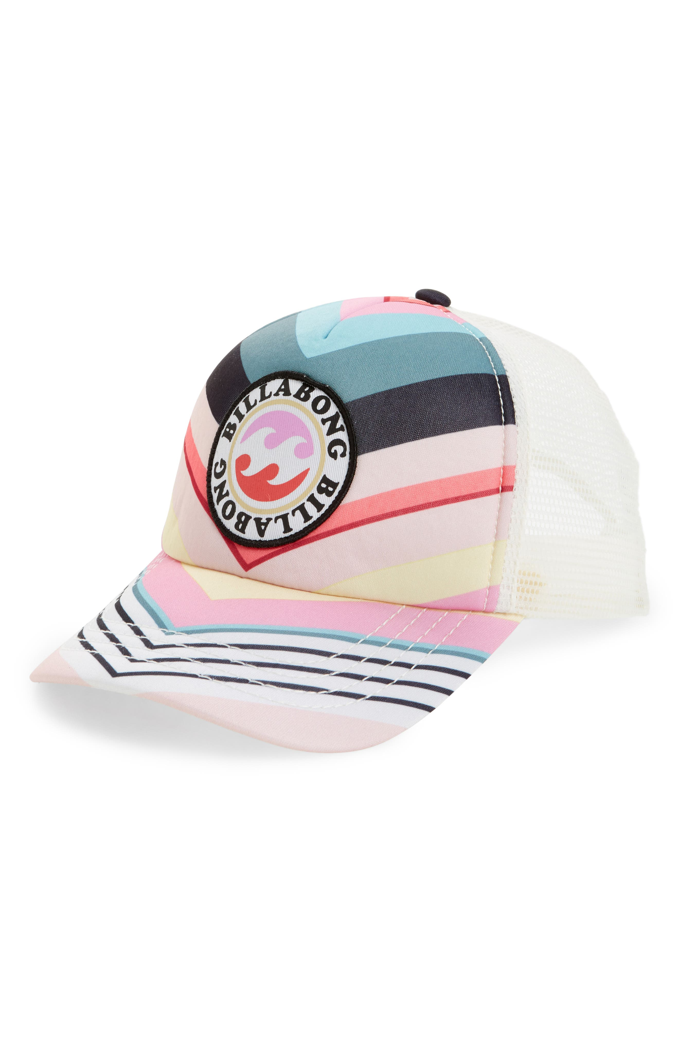 Billabong Shenanigans Trucker Hat (Big Girls)
