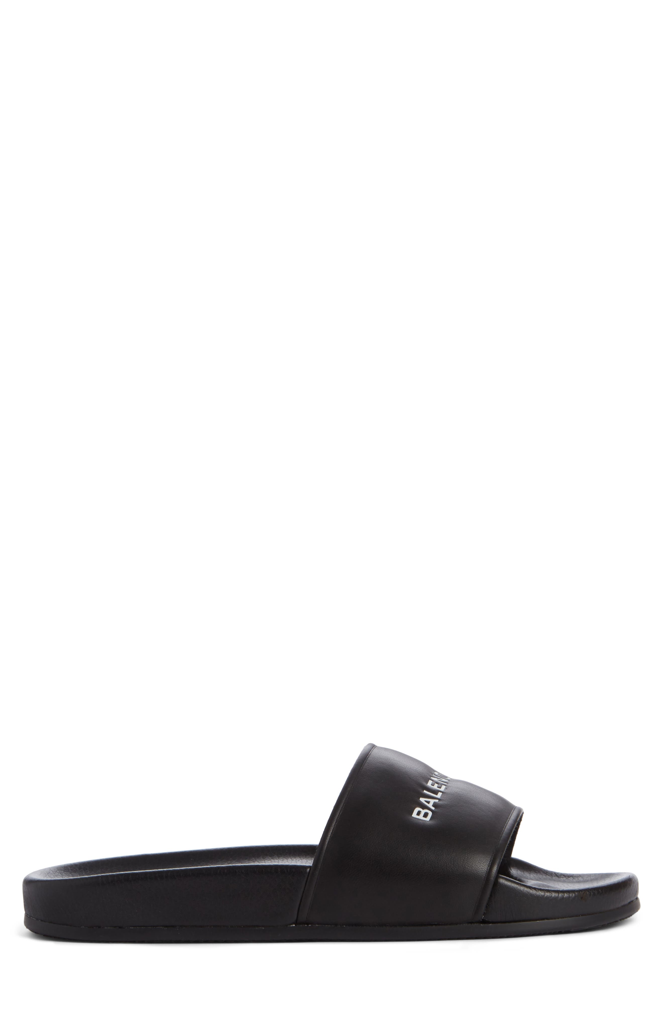 Alternate Image 3  - Balenciaga Logo Slide Sandal (Men)