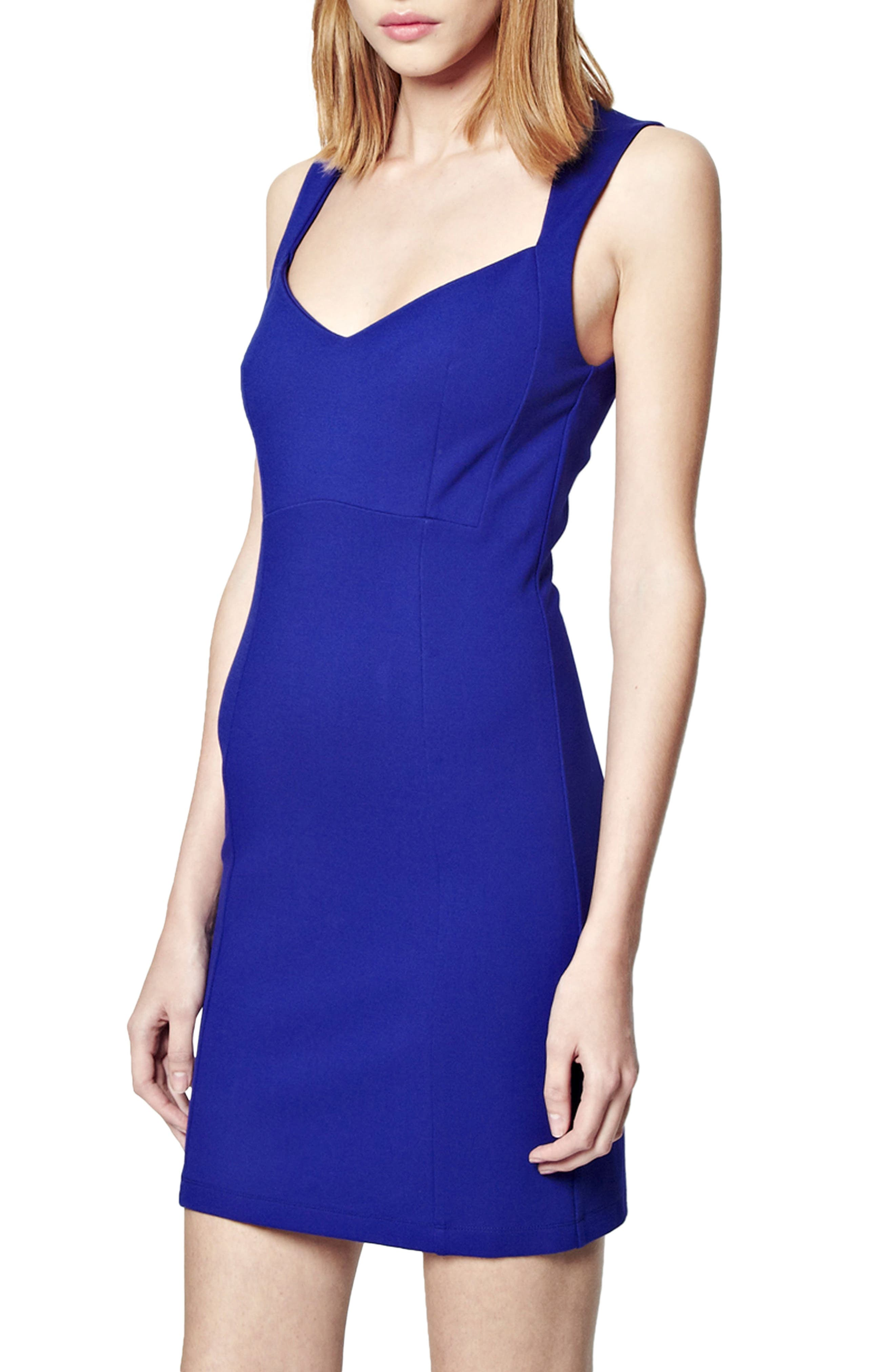 Main Image - French Connection 'Lula' Stretch Body-Con Dress