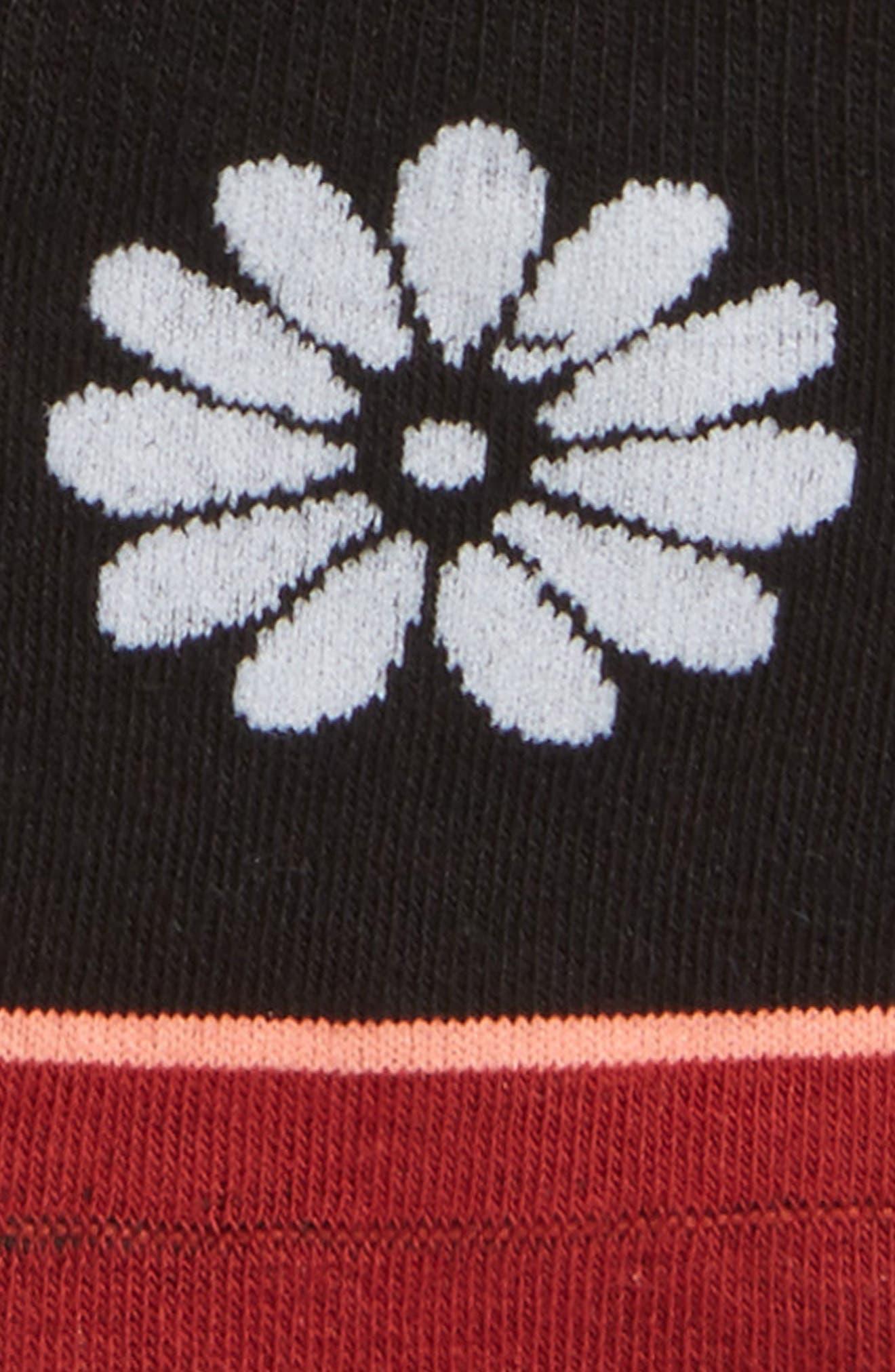 Daisy Mae No-Show Socks,                             Alternate thumbnail 2, color,                             Black
