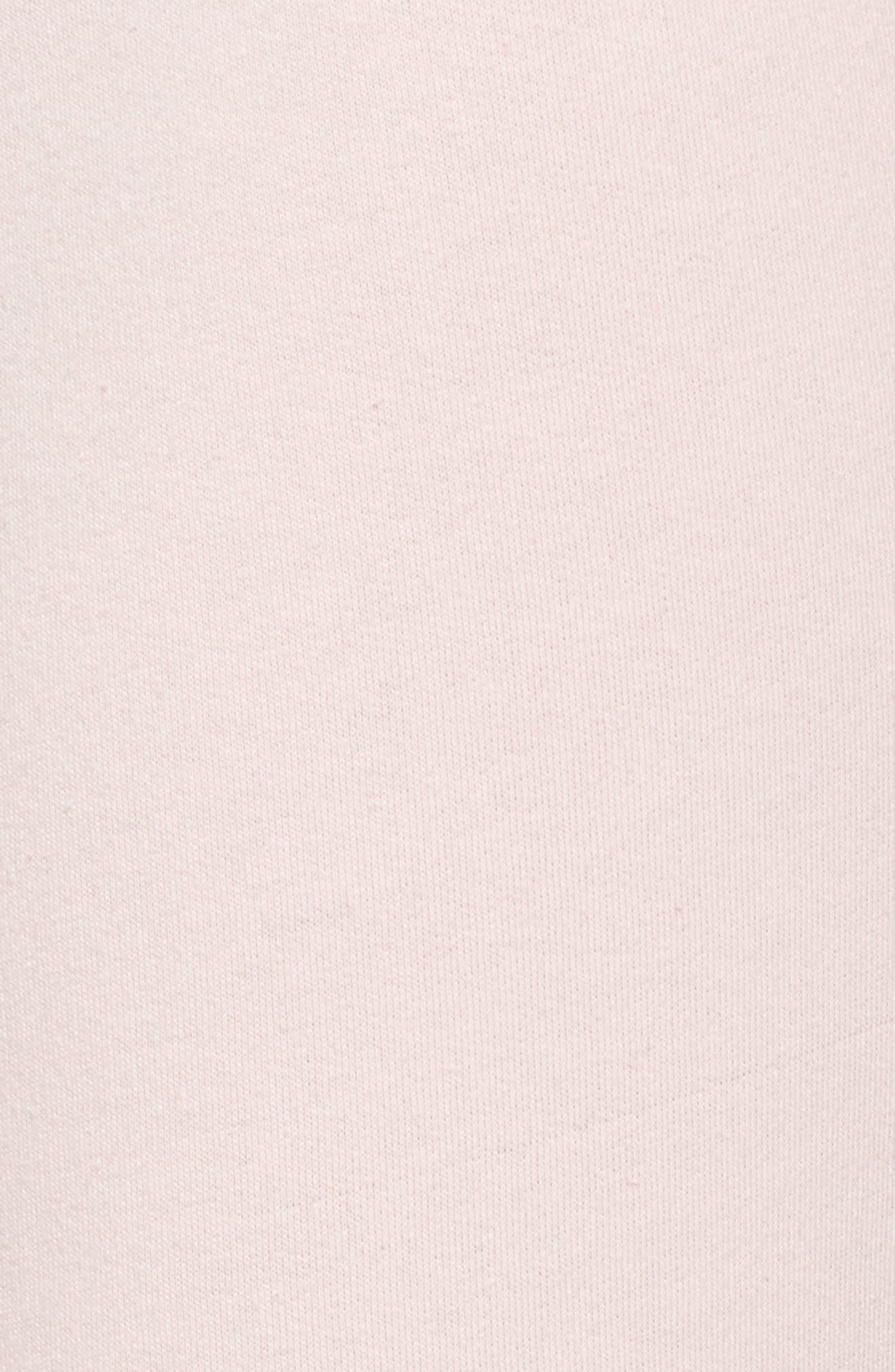 Alternate Image 6  - LOVE+GRACE Fuzzy Flare Lounge Pants