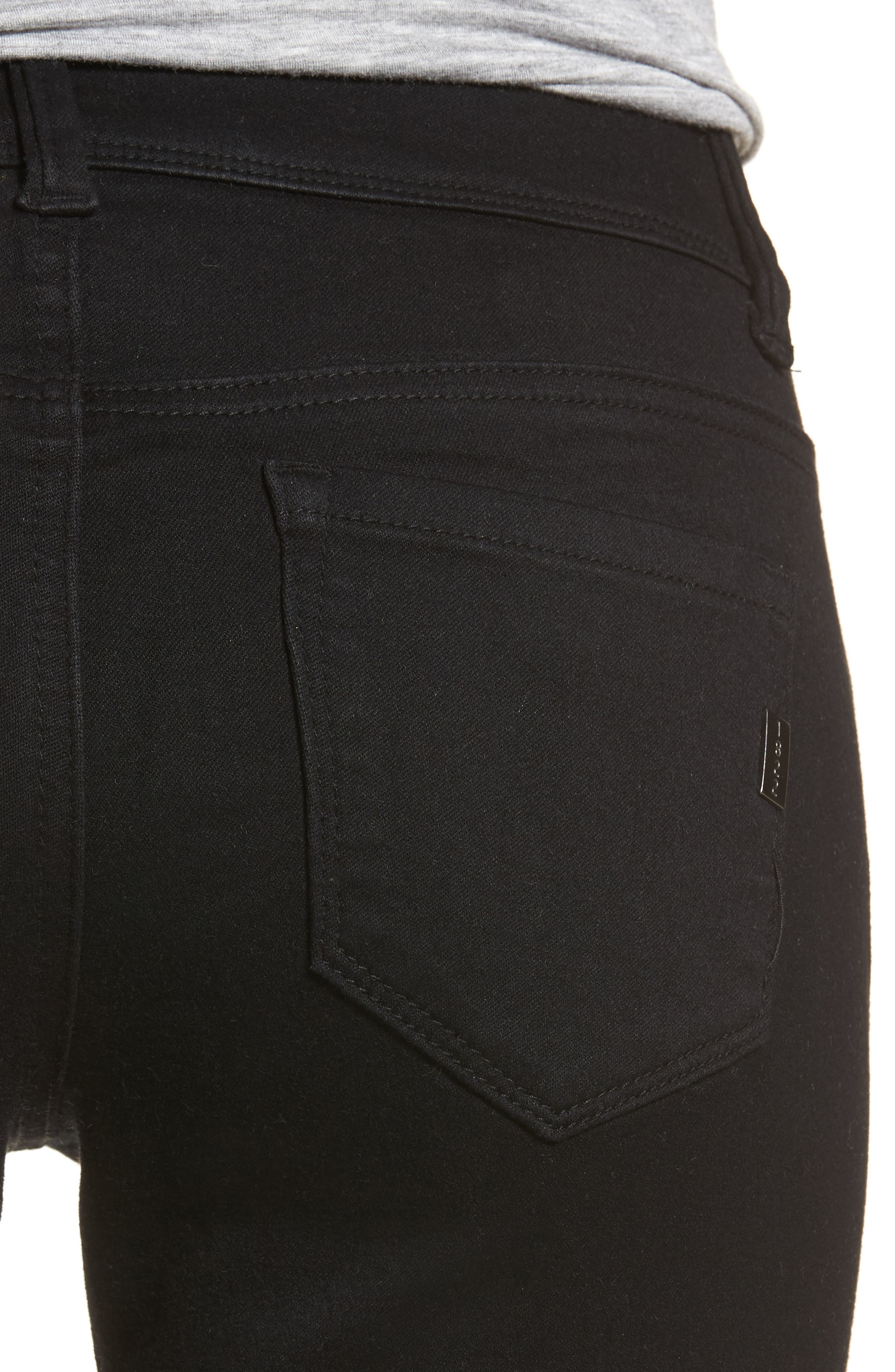 Alternate Image 4  - 1822 Denim Butter Two-Button Skinny Jeans