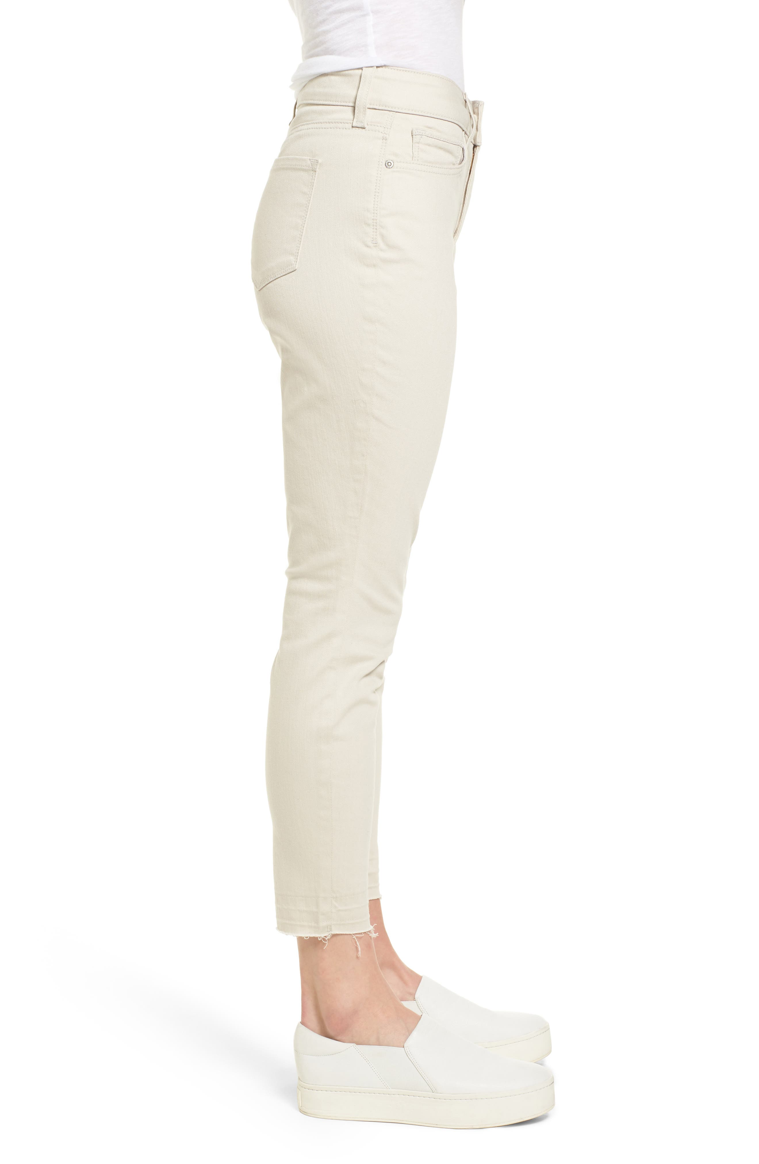 Ami Release Hem Jeans,                             Alternate thumbnail 3, color,                             Clay