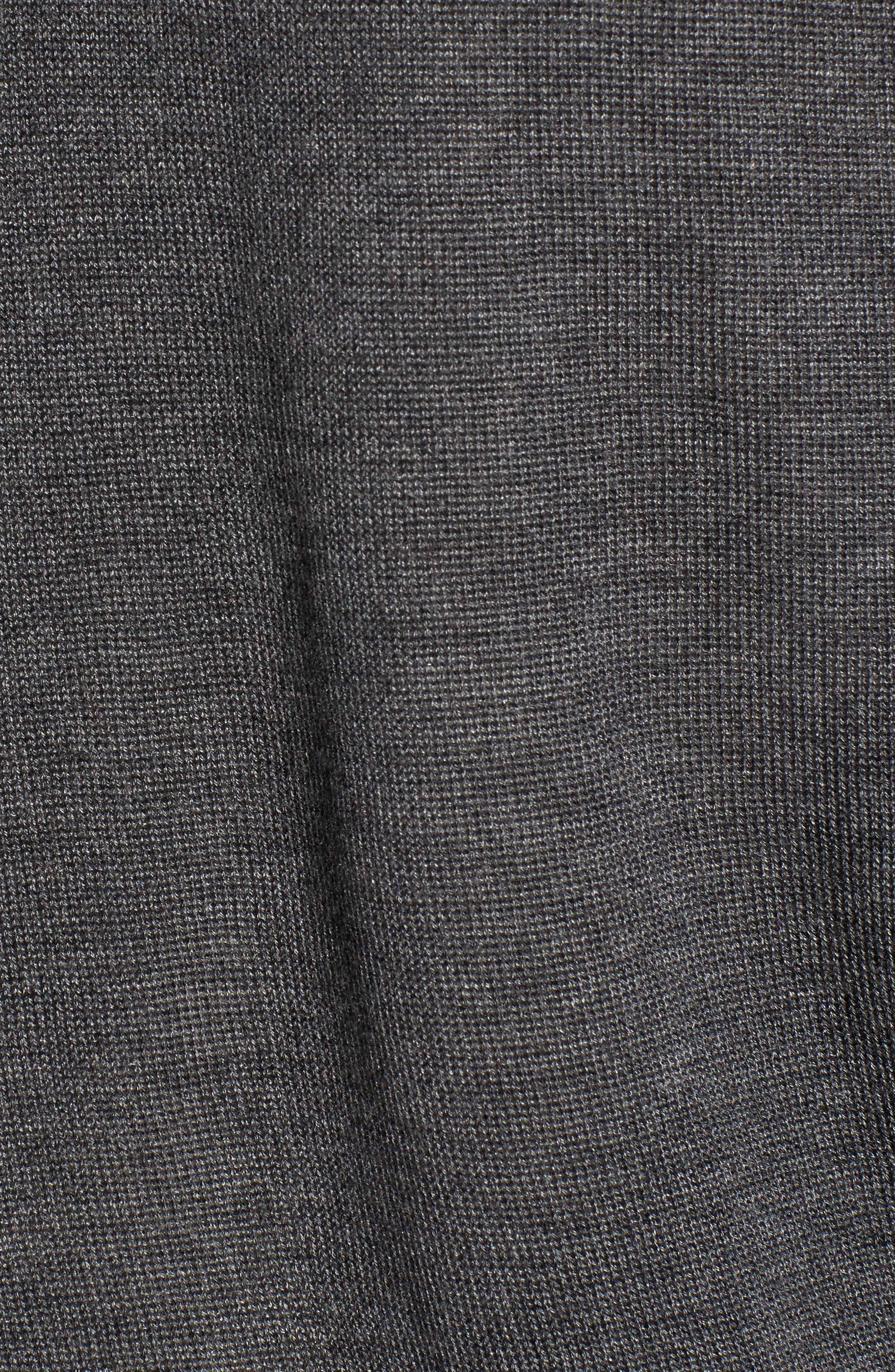 Alternate Image 5  - Eileen Fisher Faux Wrap Tencel® & Merino Wool Sweater