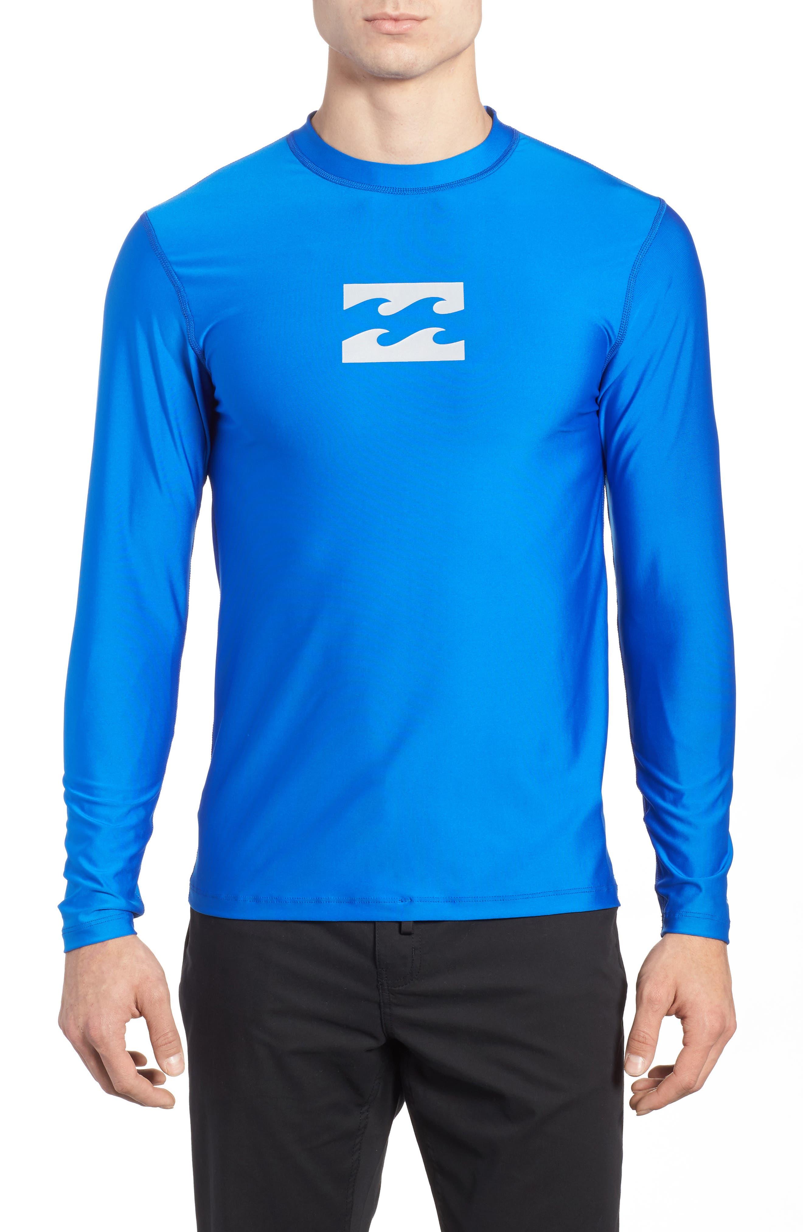 All Day Wave Graphic T-Shirt,                             Main thumbnail 1, color,                             Royal