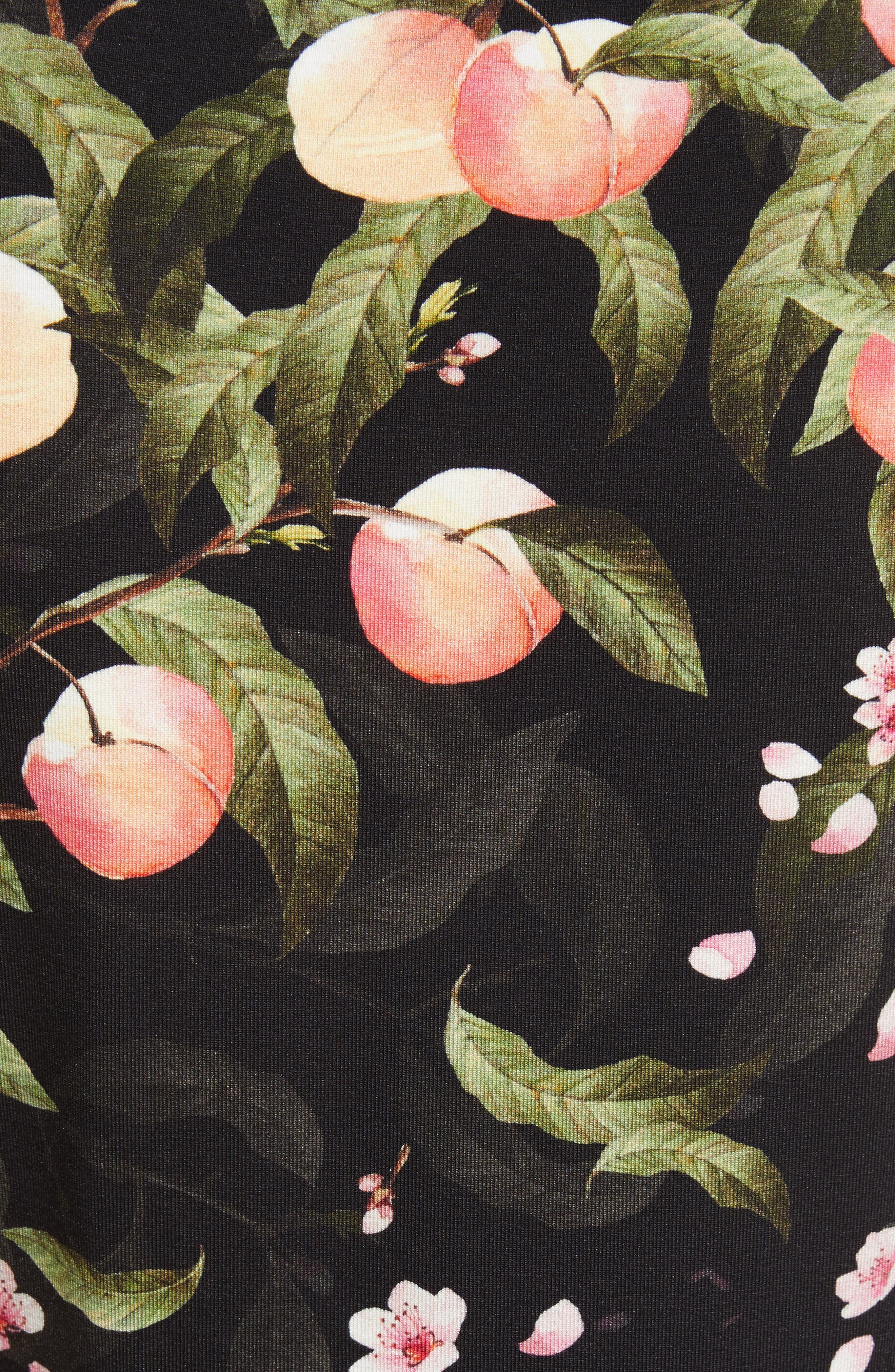 Alternate Image 5  - Ted Baker London Peach Blossom Fitted Tee