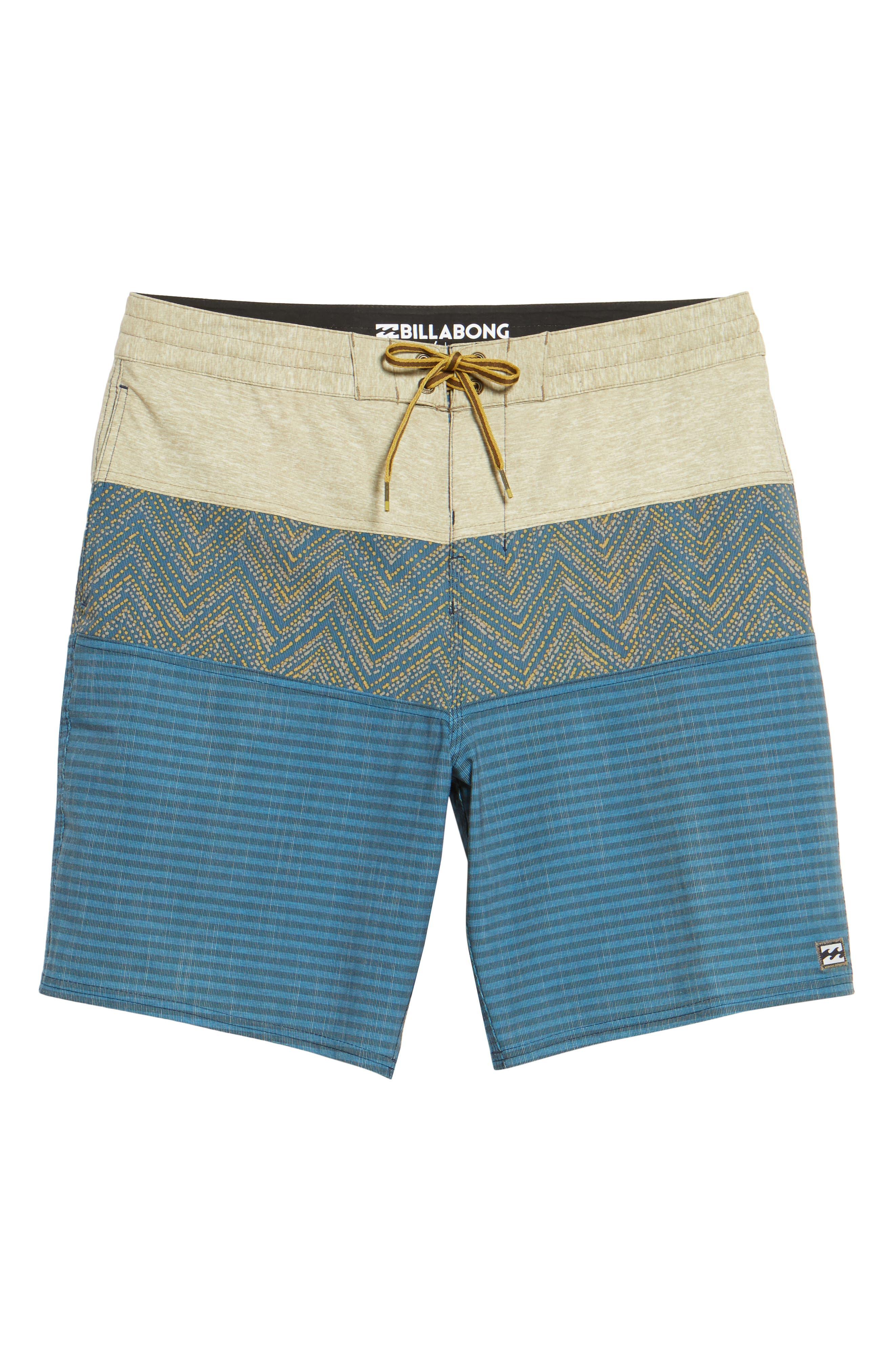Tribong LT Board Shorts,                             Alternate thumbnail 6, color,                             Dijon