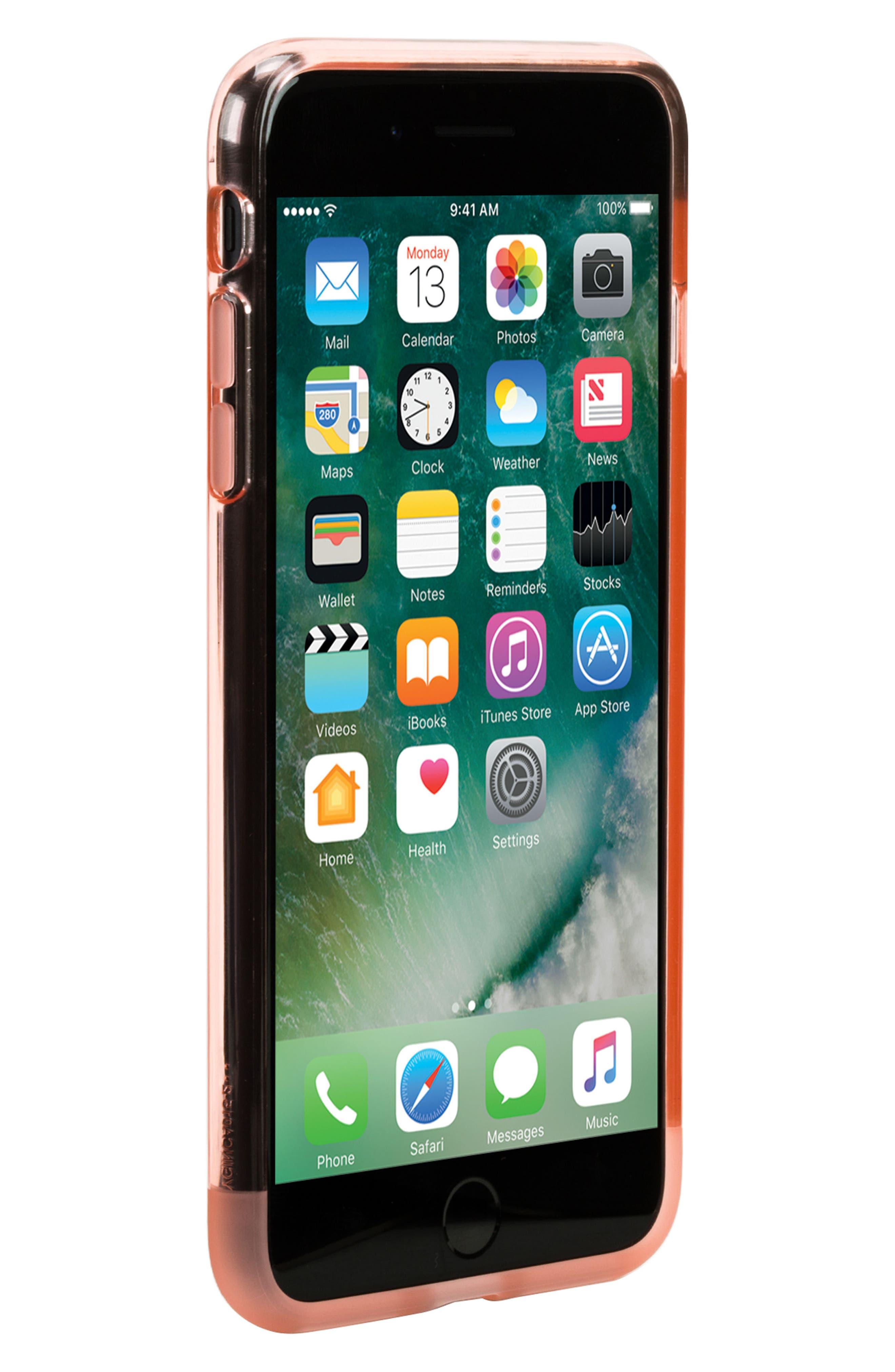Protective iPhone 7 Plus/8 Plus Case,                             Alternate thumbnail 6, color,                             Rose Quartz