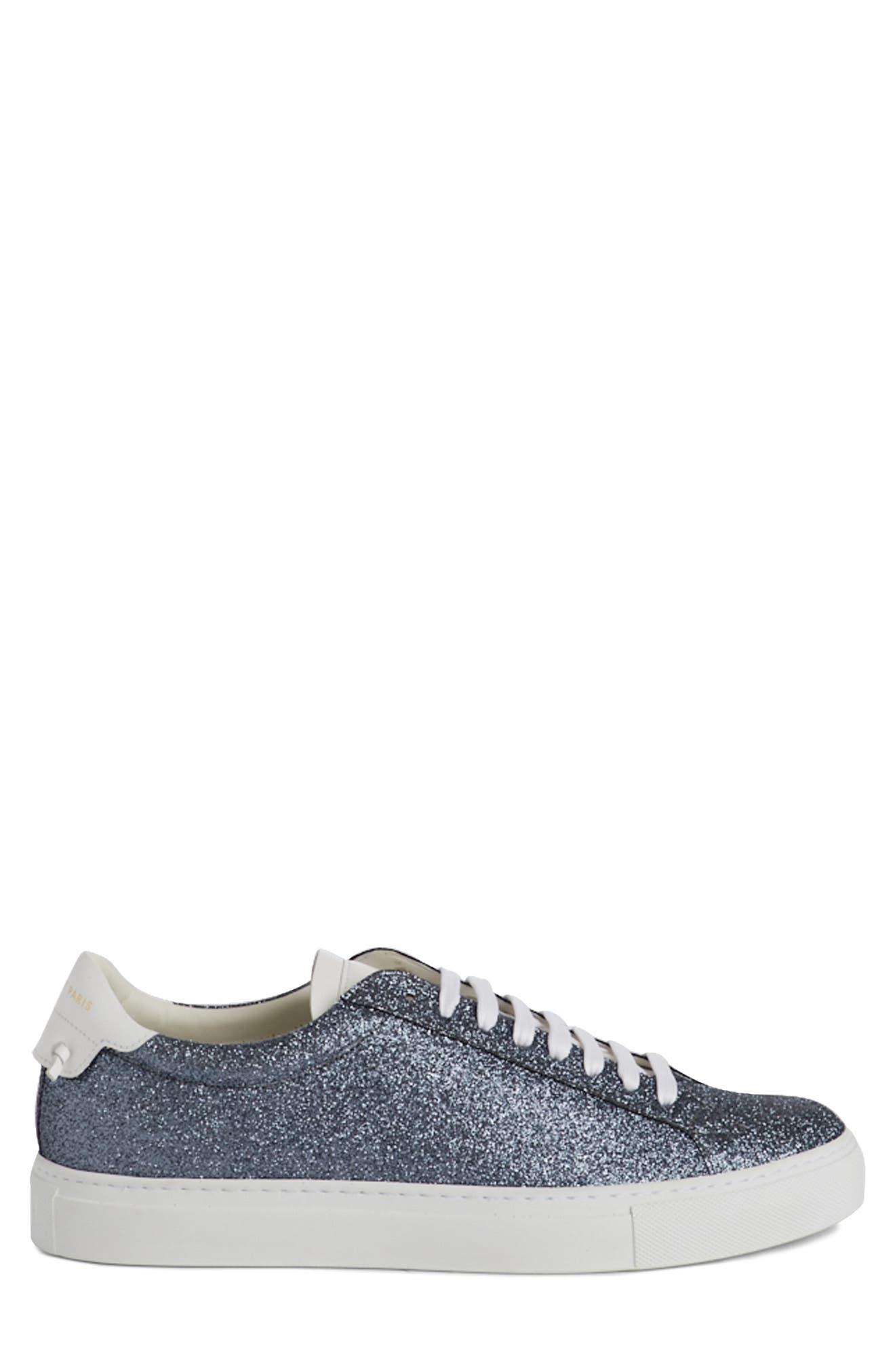 Urban Knots Glitter Sneaker,                             Alternate thumbnail 3, color,                             Grey