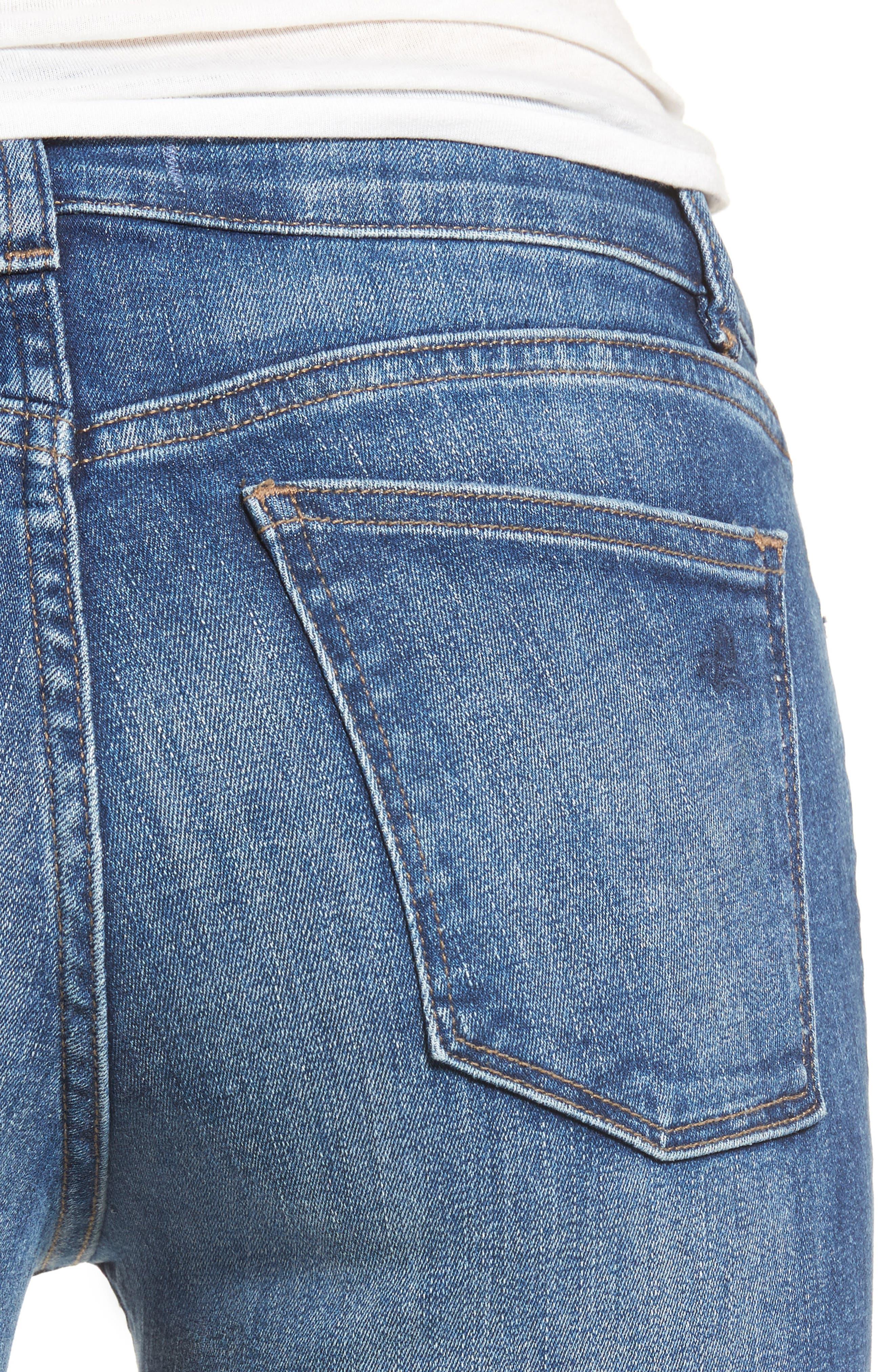 Mara Ankle Straight Leg Jeans,                             Alternate thumbnail 4, color,                             Fillmore