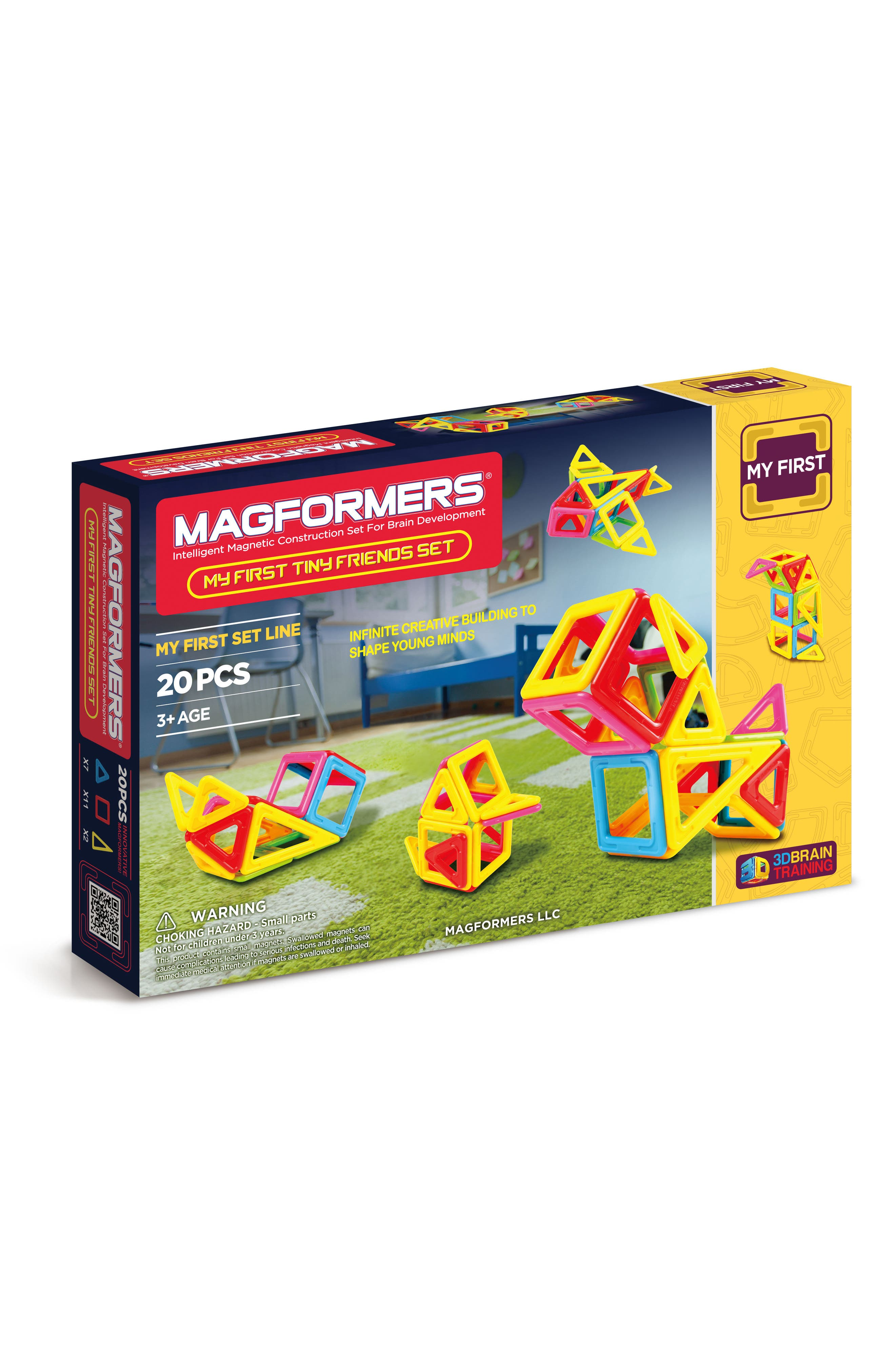 Main Image - Magformers 20-Piece My First Tiny Friends Magnetic 3D Construction Set