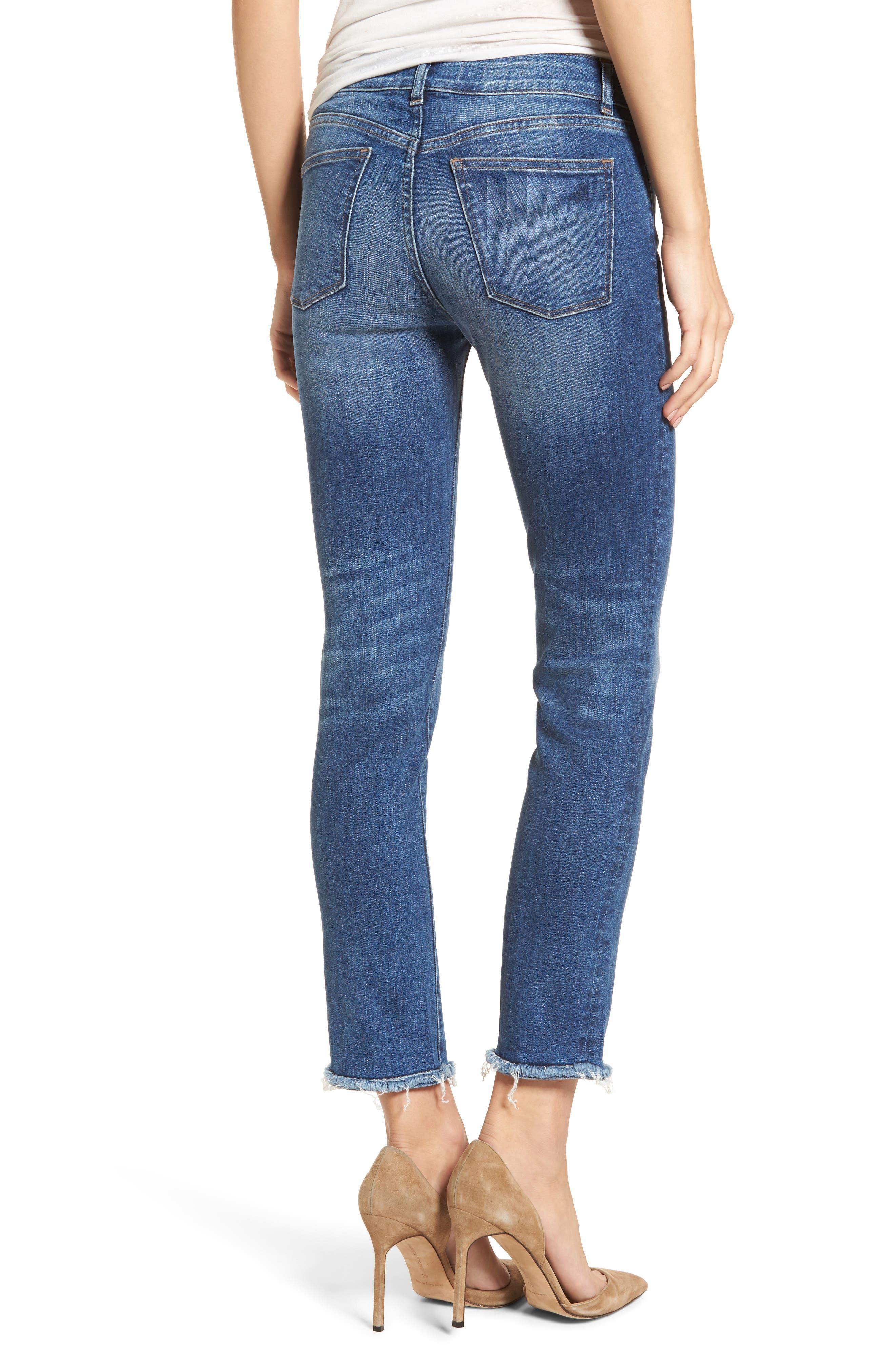 Mara Ankle Straight Leg Jeans,                             Alternate thumbnail 2, color,                             Fillmore