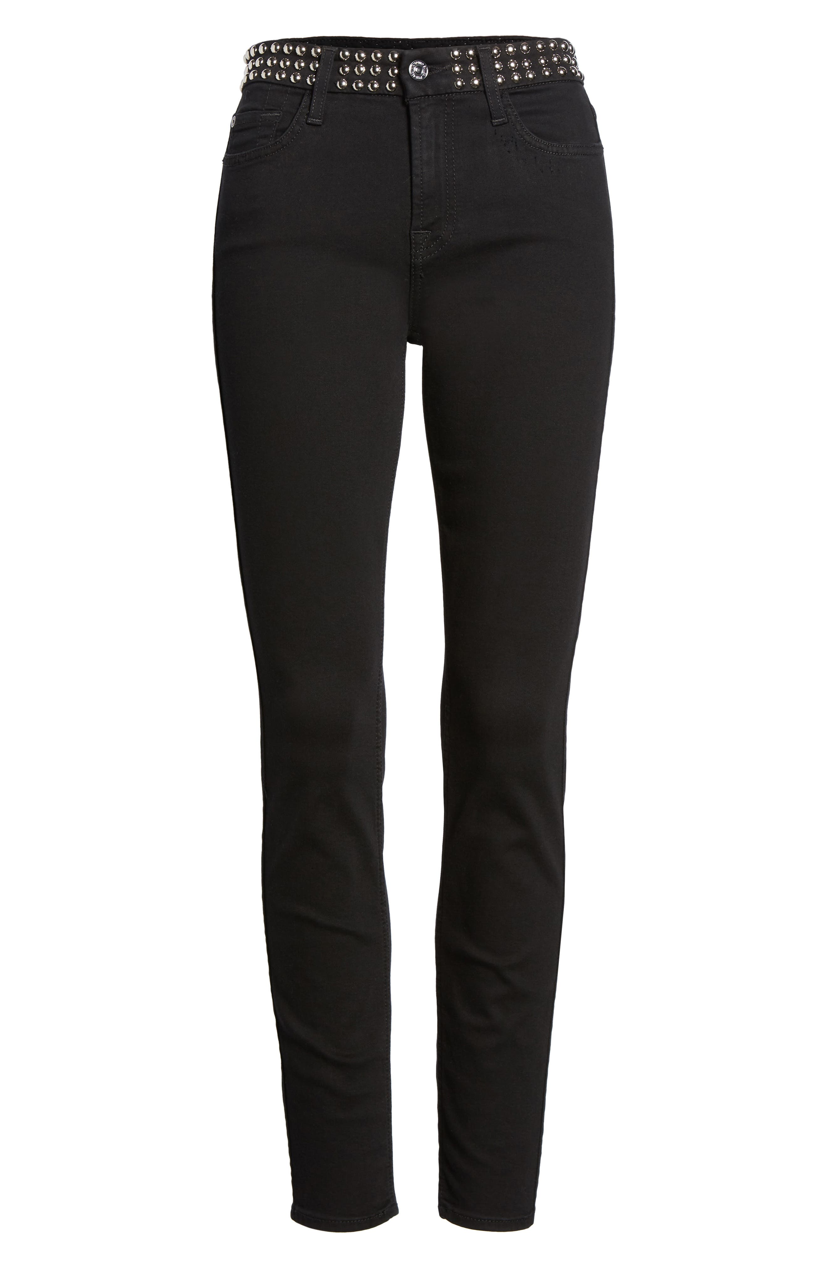 Alternate Image 6  - 7 For All Mankind® The Ankle Skinny Jeans