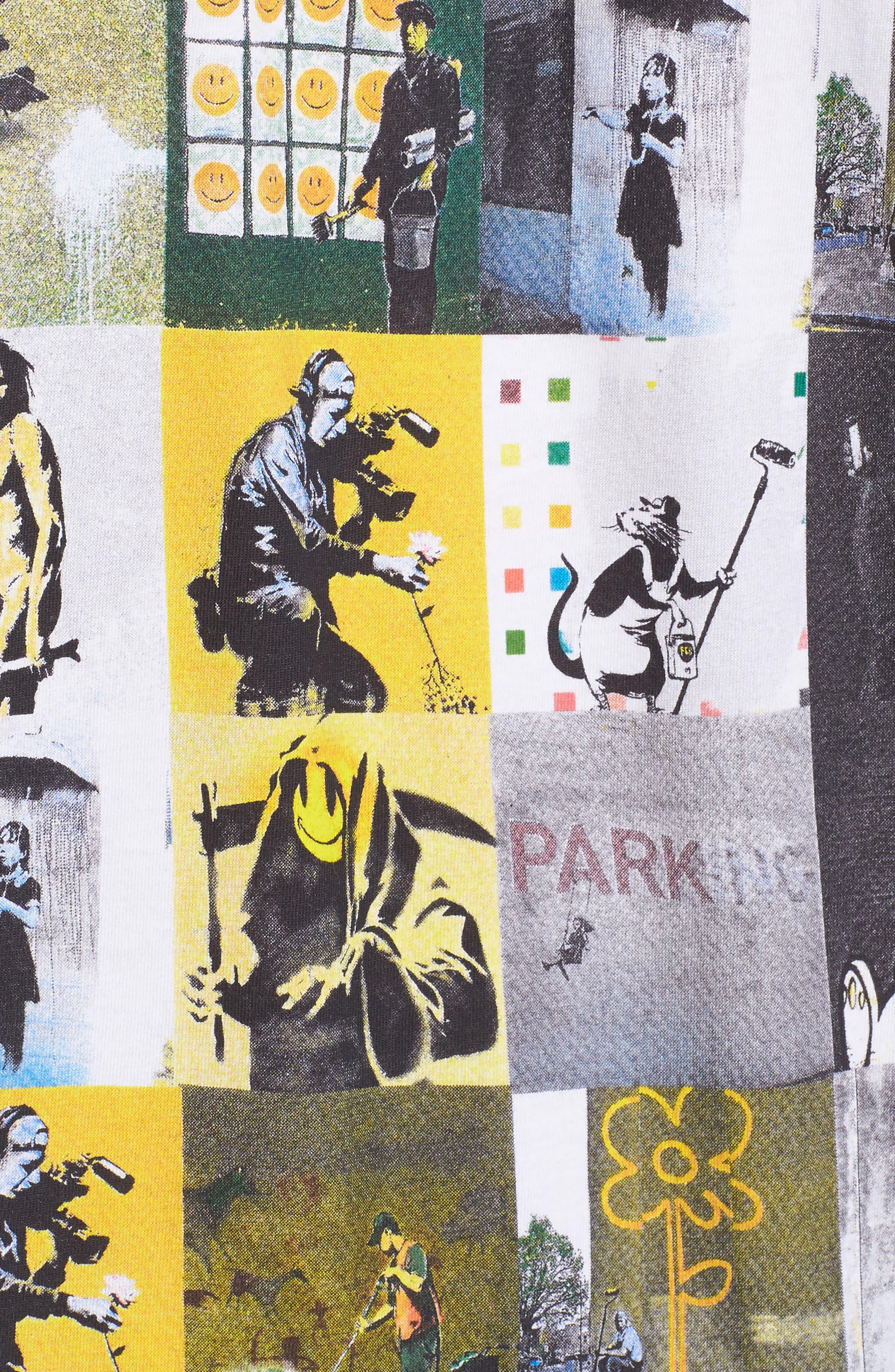 Alternate Image 5  - ELEVENPARIS Collage T-Shirt