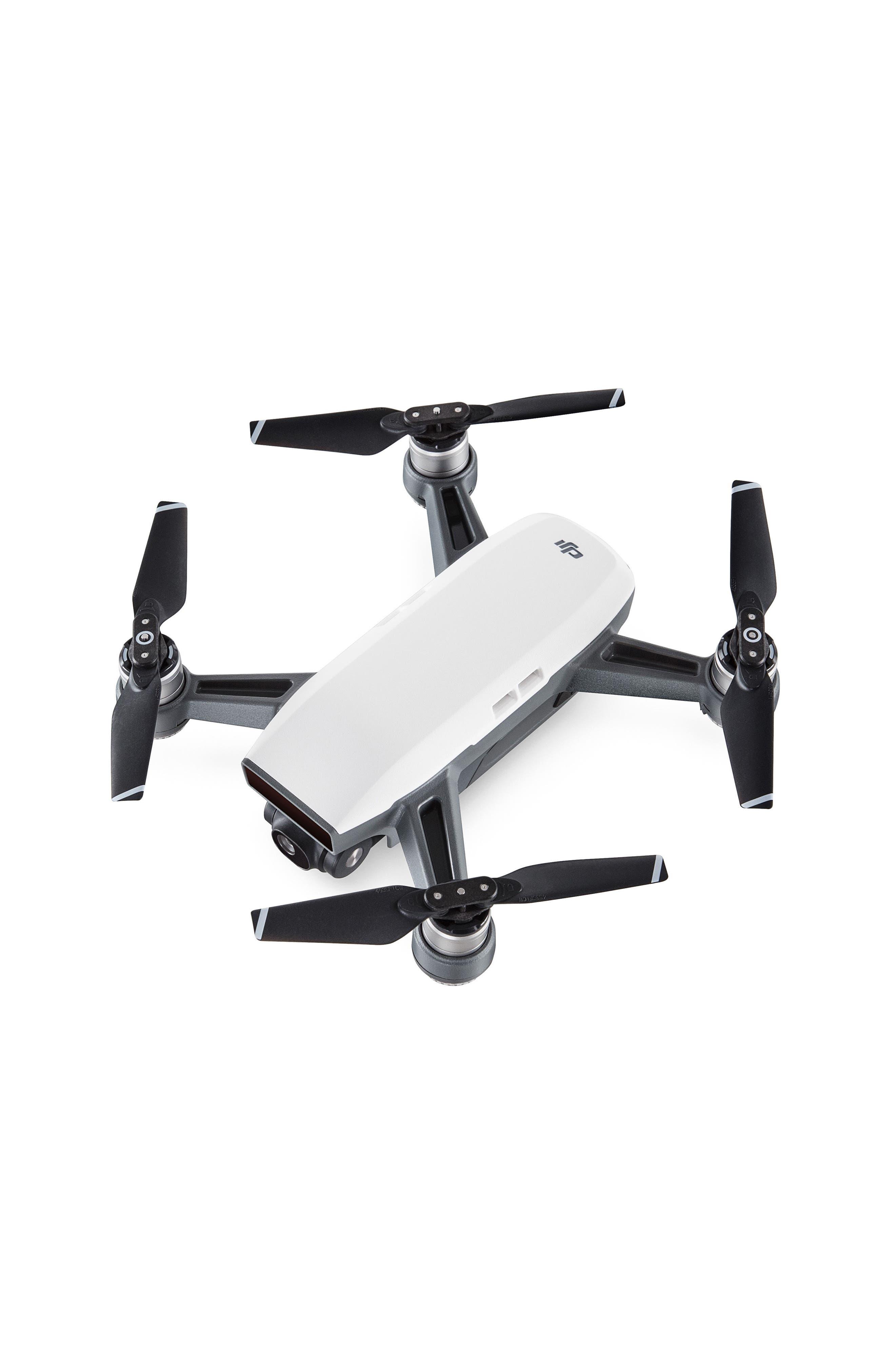 Spark Mini Flying Quadcopter,                             Main thumbnail 1, color,                             White