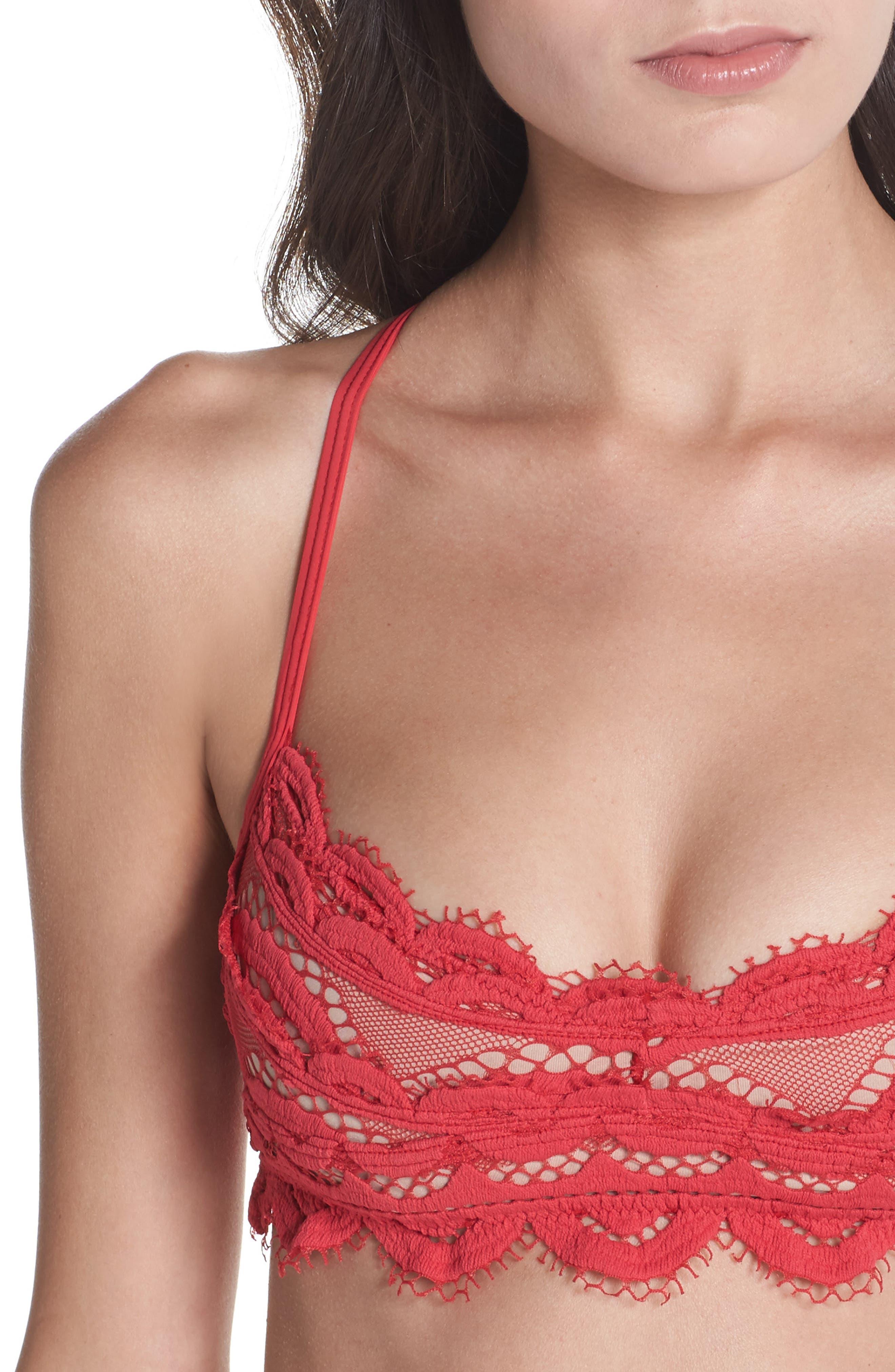 Alternate Image 4  - PilyQ Lace Bikini Top