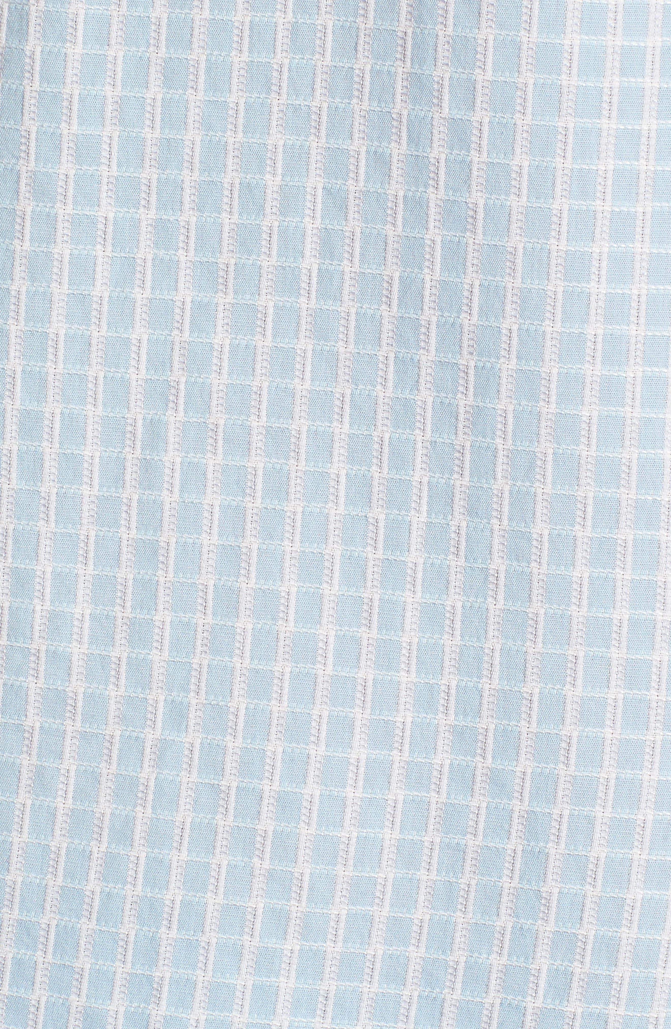 Once in a Tile Regular Fit Sport Shirt,                             Alternate thumbnail 5, color,                             Opal