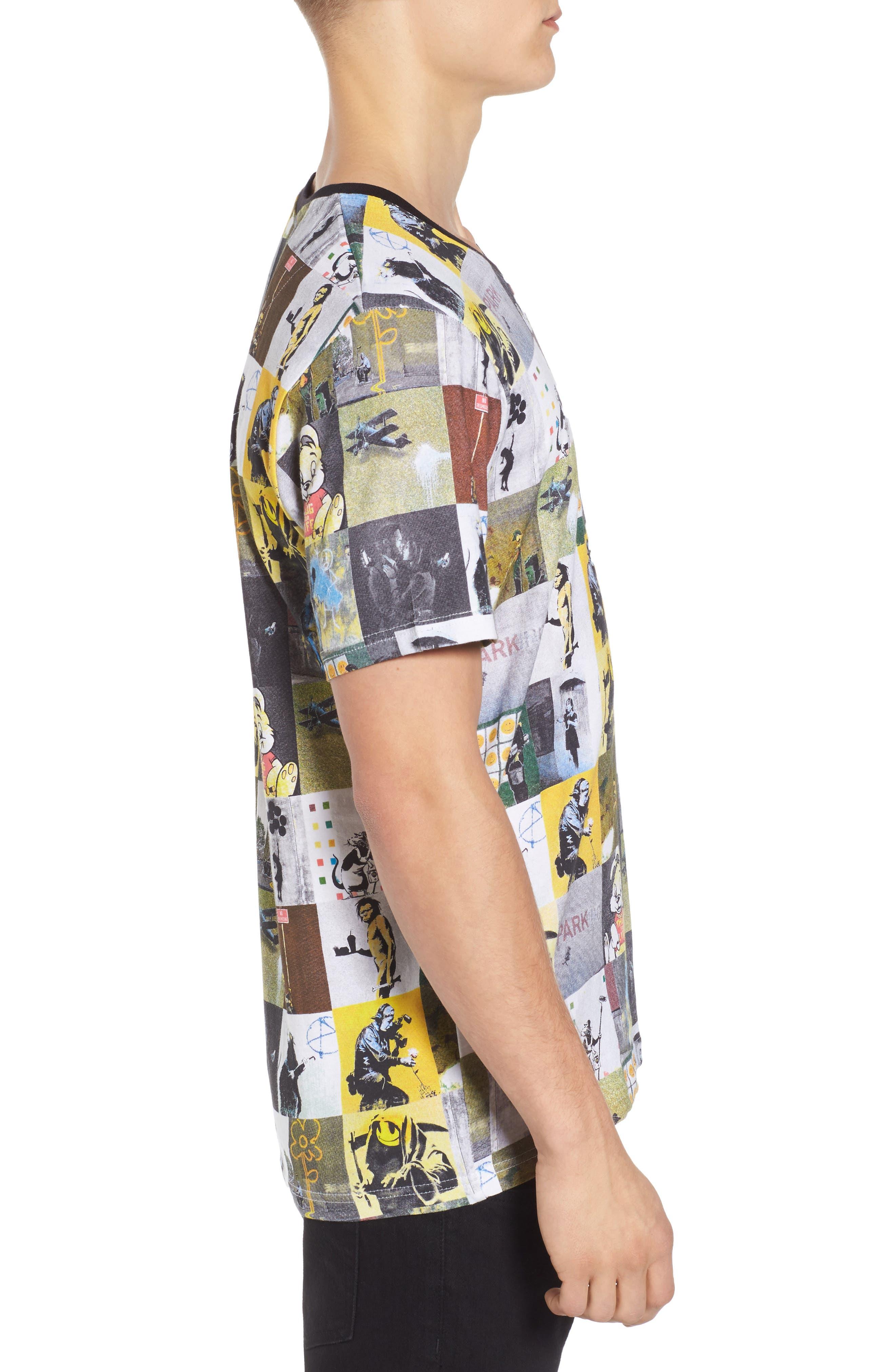 Alternate Image 3  - ELEVENPARIS Collage T-Shirt