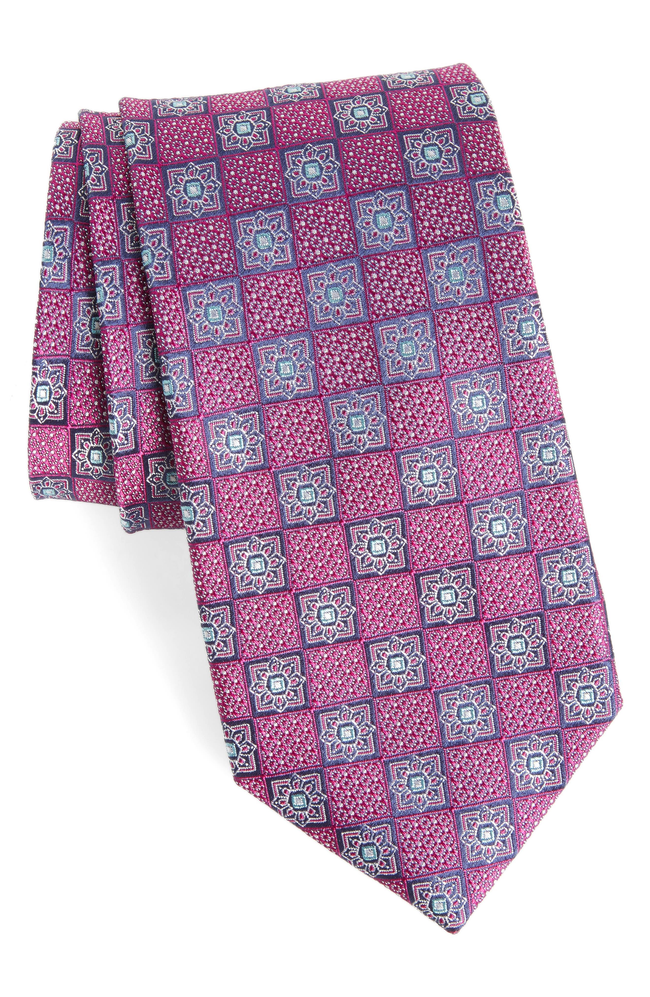 Main Image - Nordstrom Men's Shop Settala Medallion Silk Tie