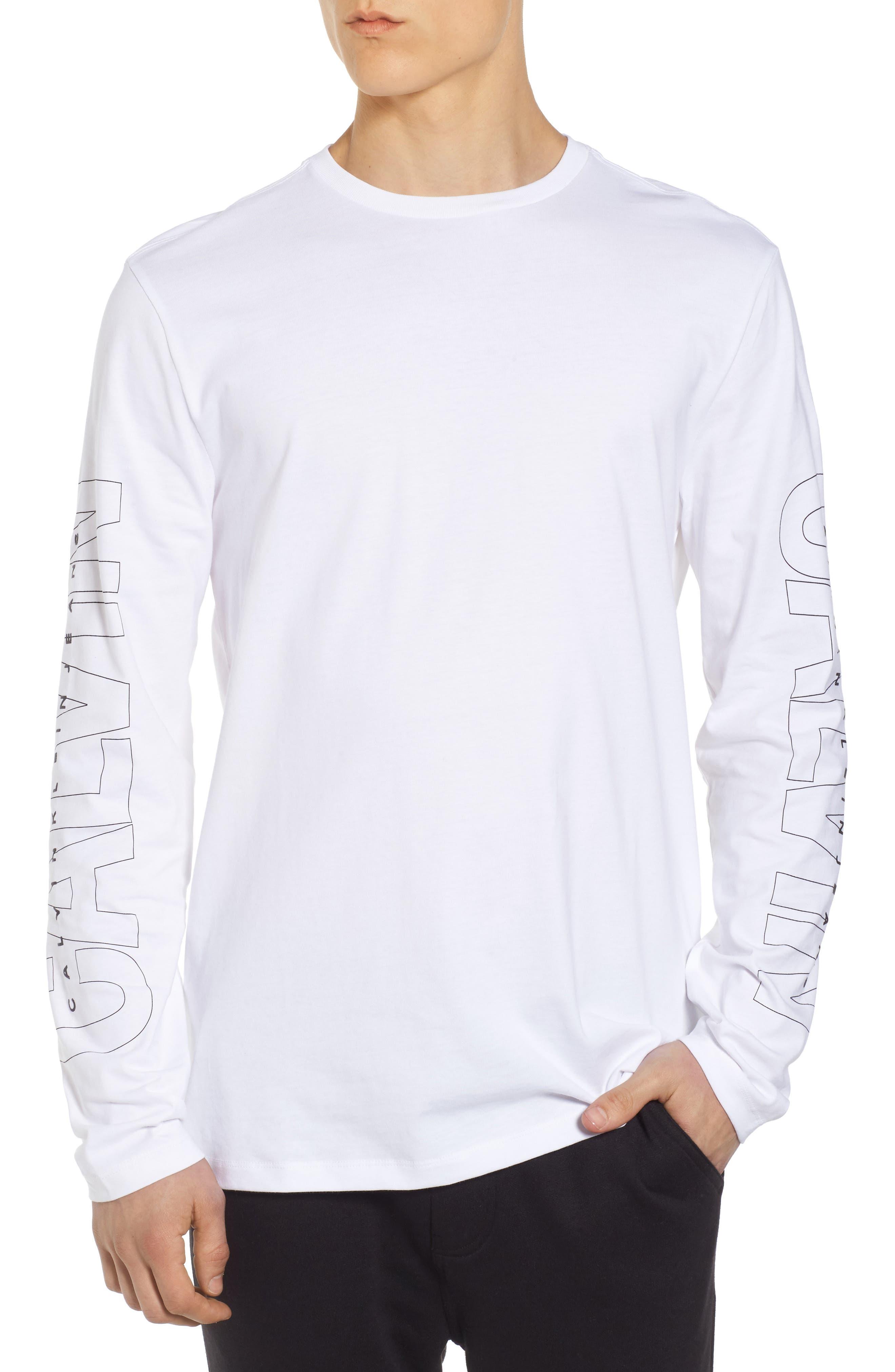 Alternate Image 1 Selected - Calvin Klein Jeans Logo T-Shirt
