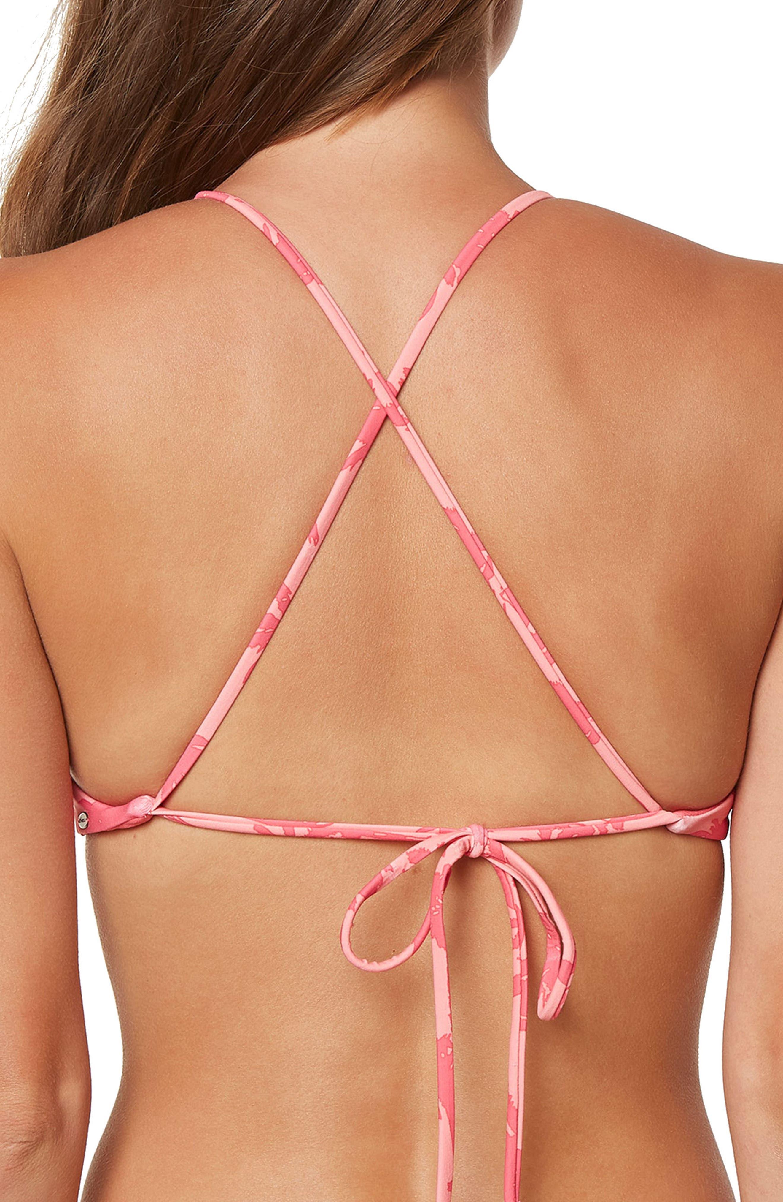 Alternate Image 2  - O'Neill Palm Strappy Halter Bikini Top