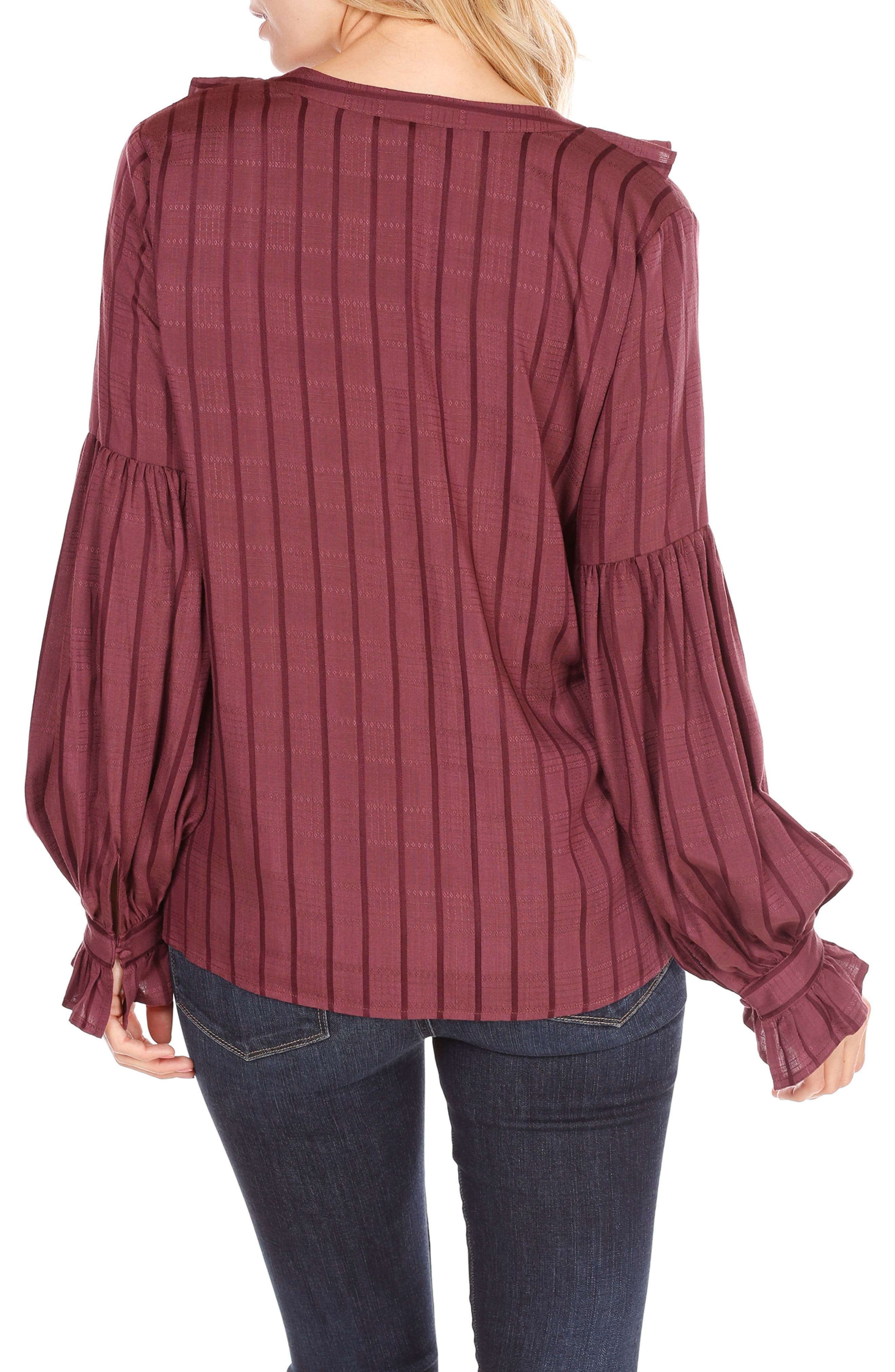 Alternate Image 2  - PAIGE Russo Ruffle Blouse