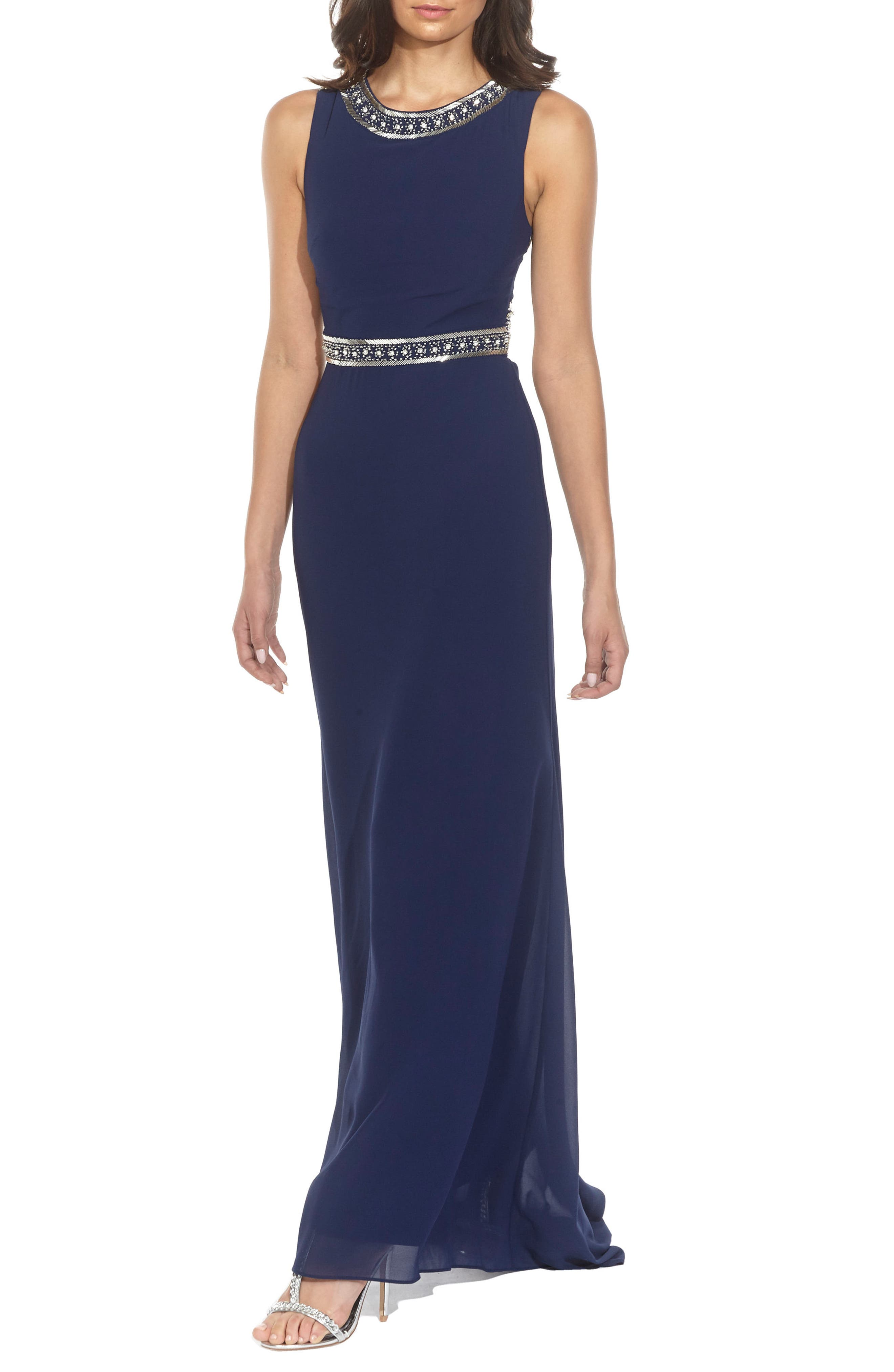 Alternate Image 4  - TFNC Akira Bead Embellished Gown