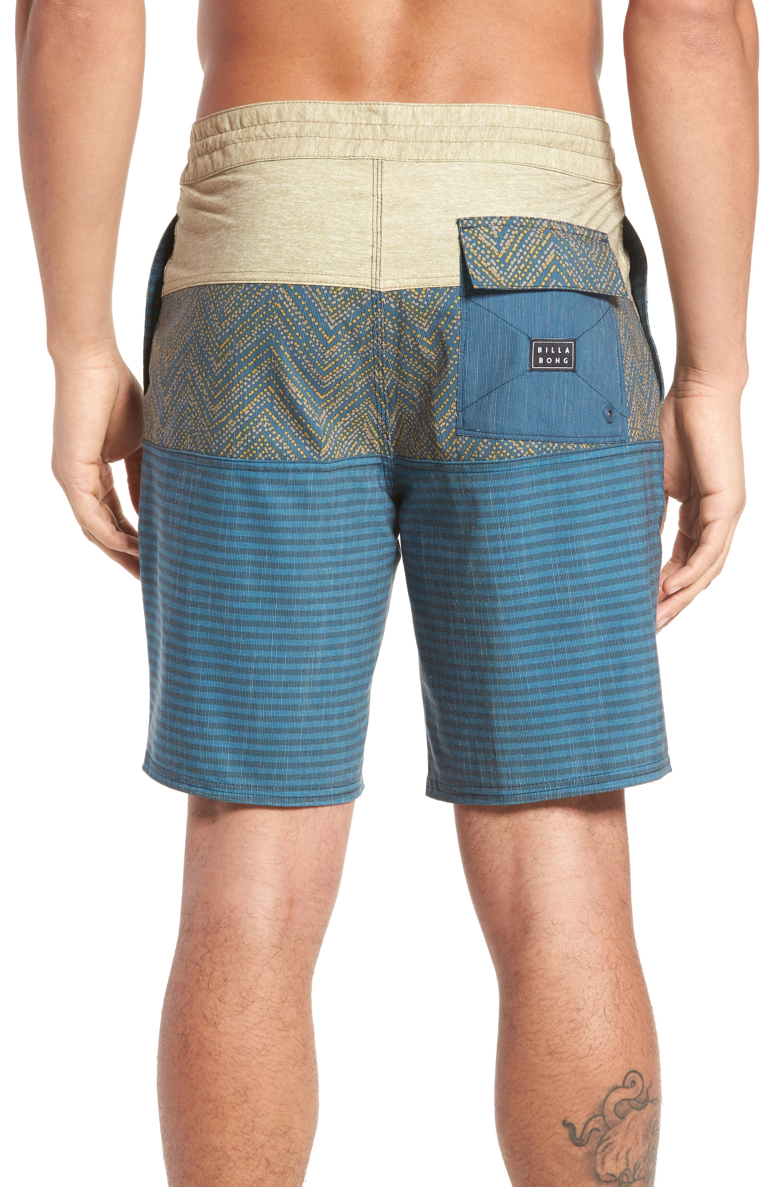 Tribong LT Board Shorts,                             Alternate thumbnail 2, color,                             Dijon