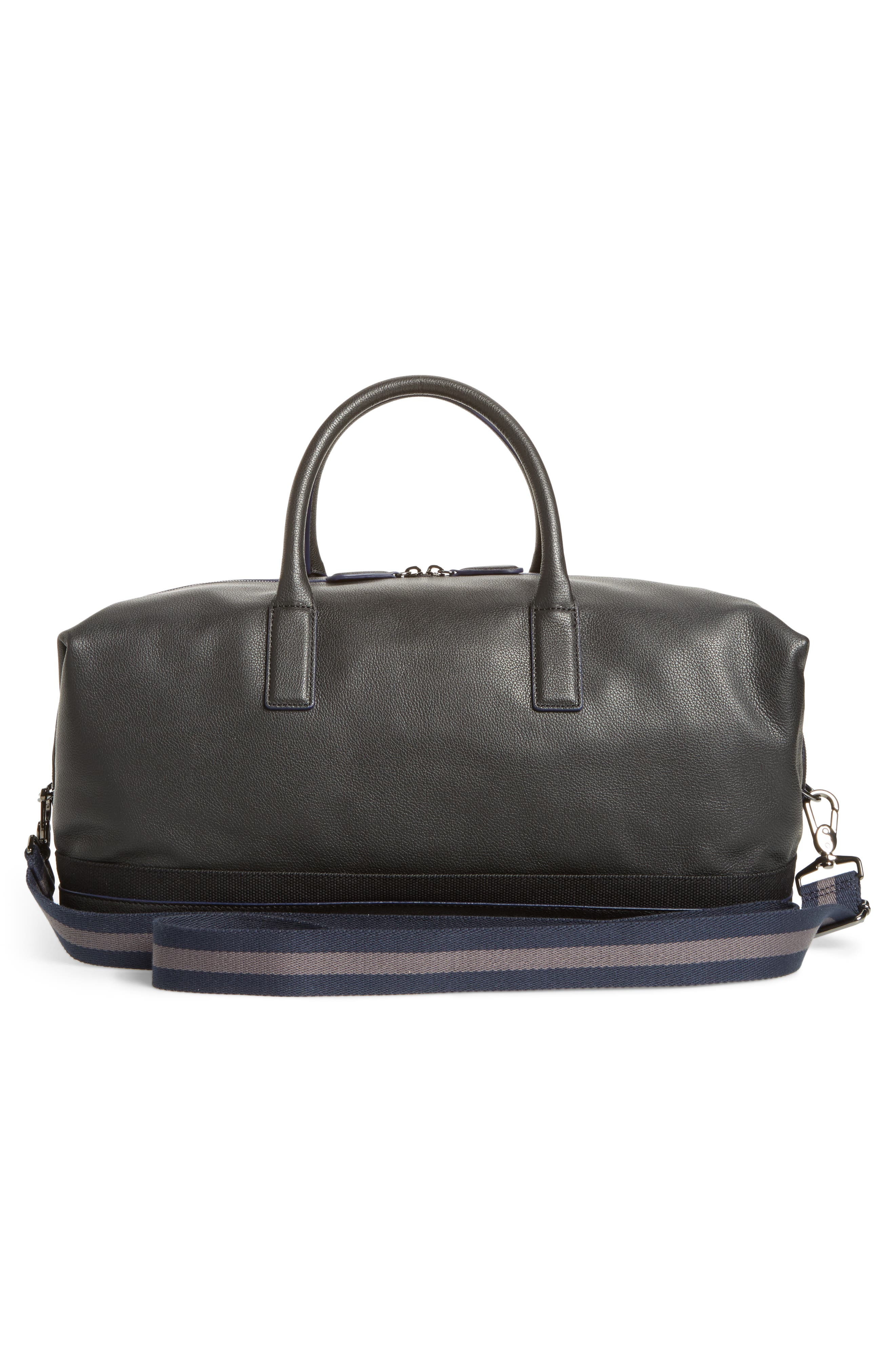 Mylow Duffel Bag,                             Alternate thumbnail 3, color,                             Black
