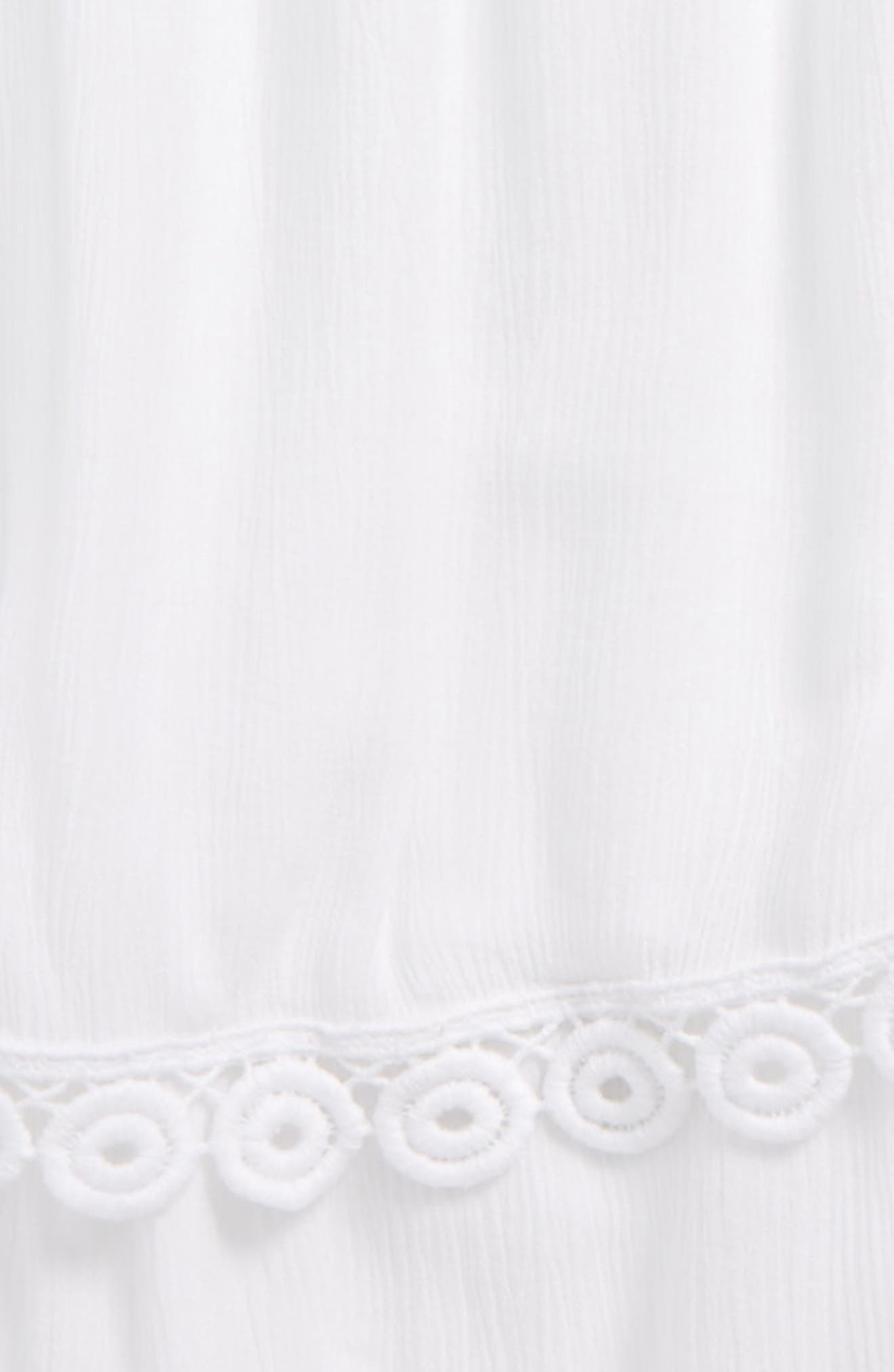 Cover-Up Dress,                             Alternate thumbnail 2, color,                             White