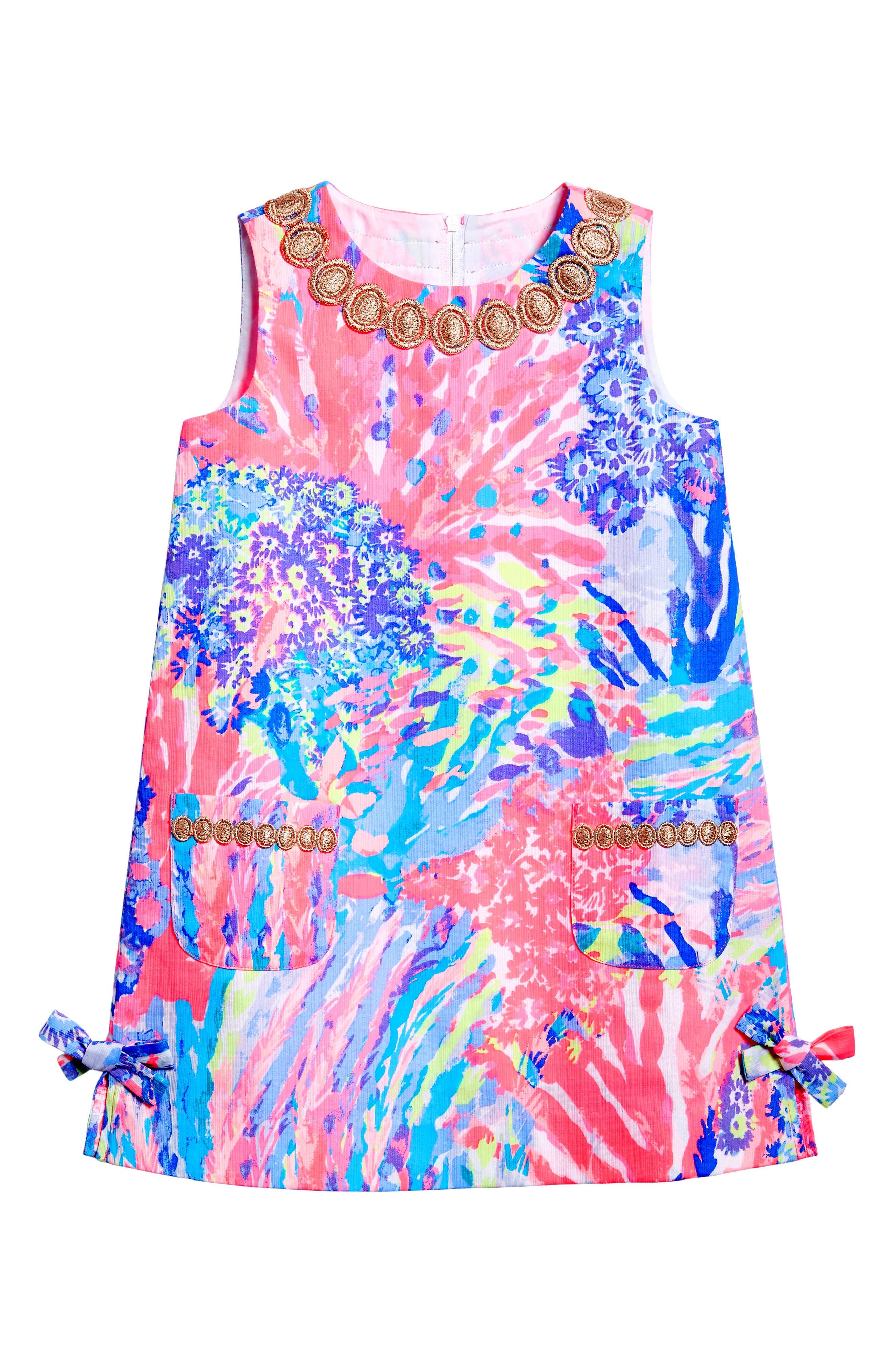 Main Image - Lilly Pulitzer® Little Lilly Shift Dress (Toddler Girls, Little Girls & Big Girls)