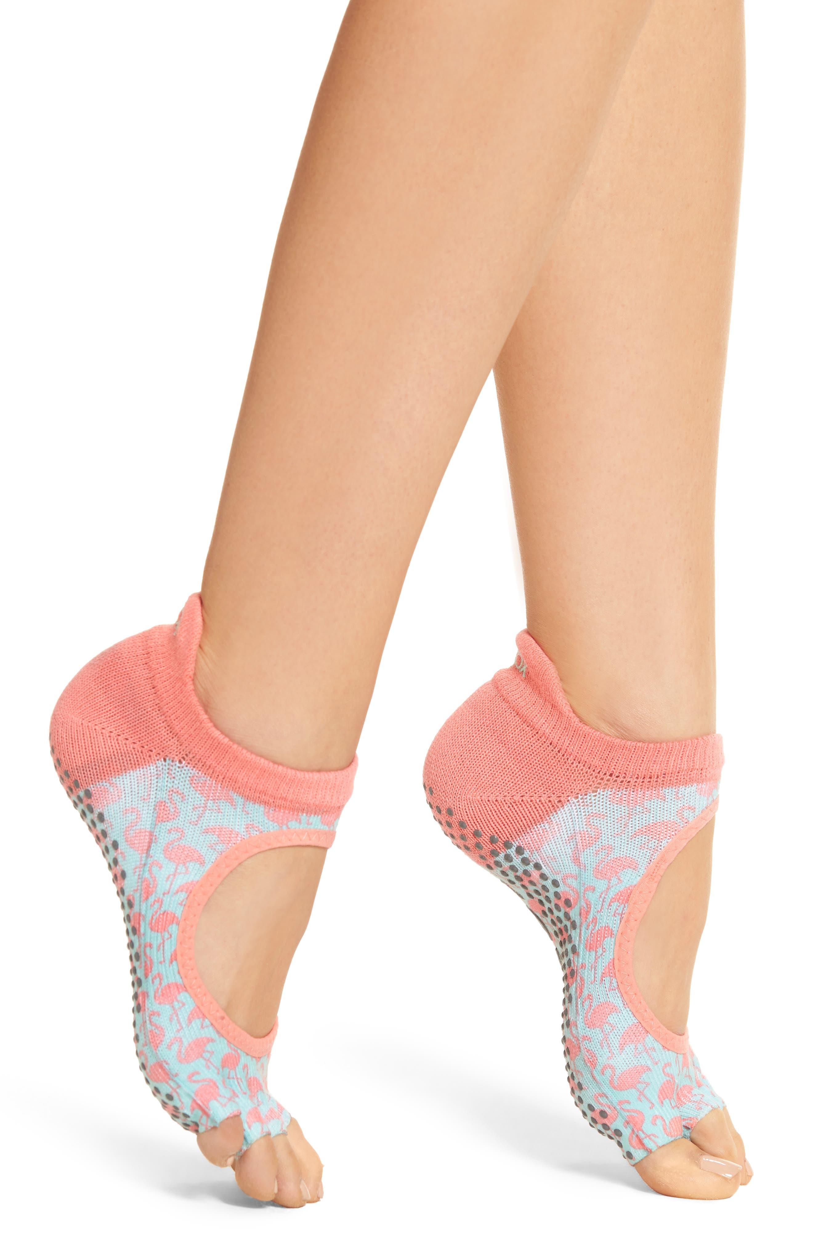 Alternate Image 1 Selected - ToeSox Bellarina Half Toe Gripper Socks