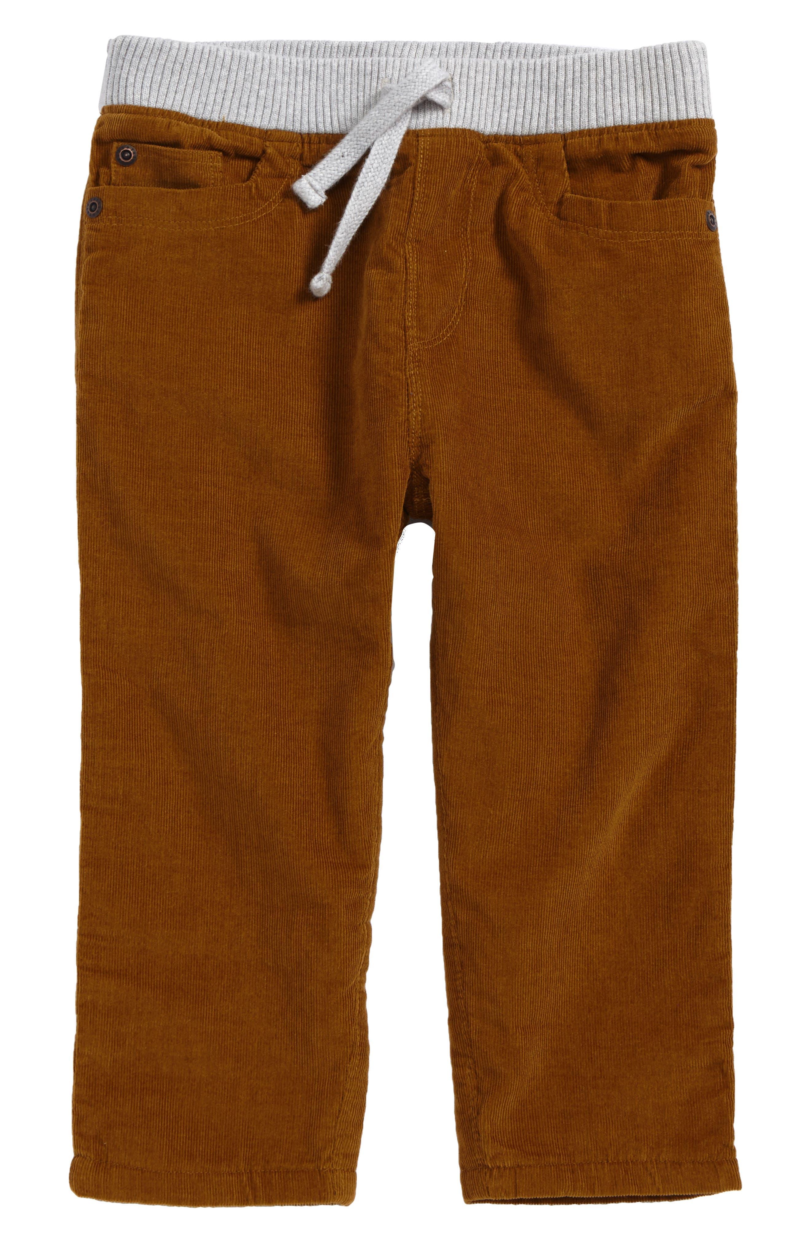 Corduroy Pants,                         Main,                         color, Tan Cumin
