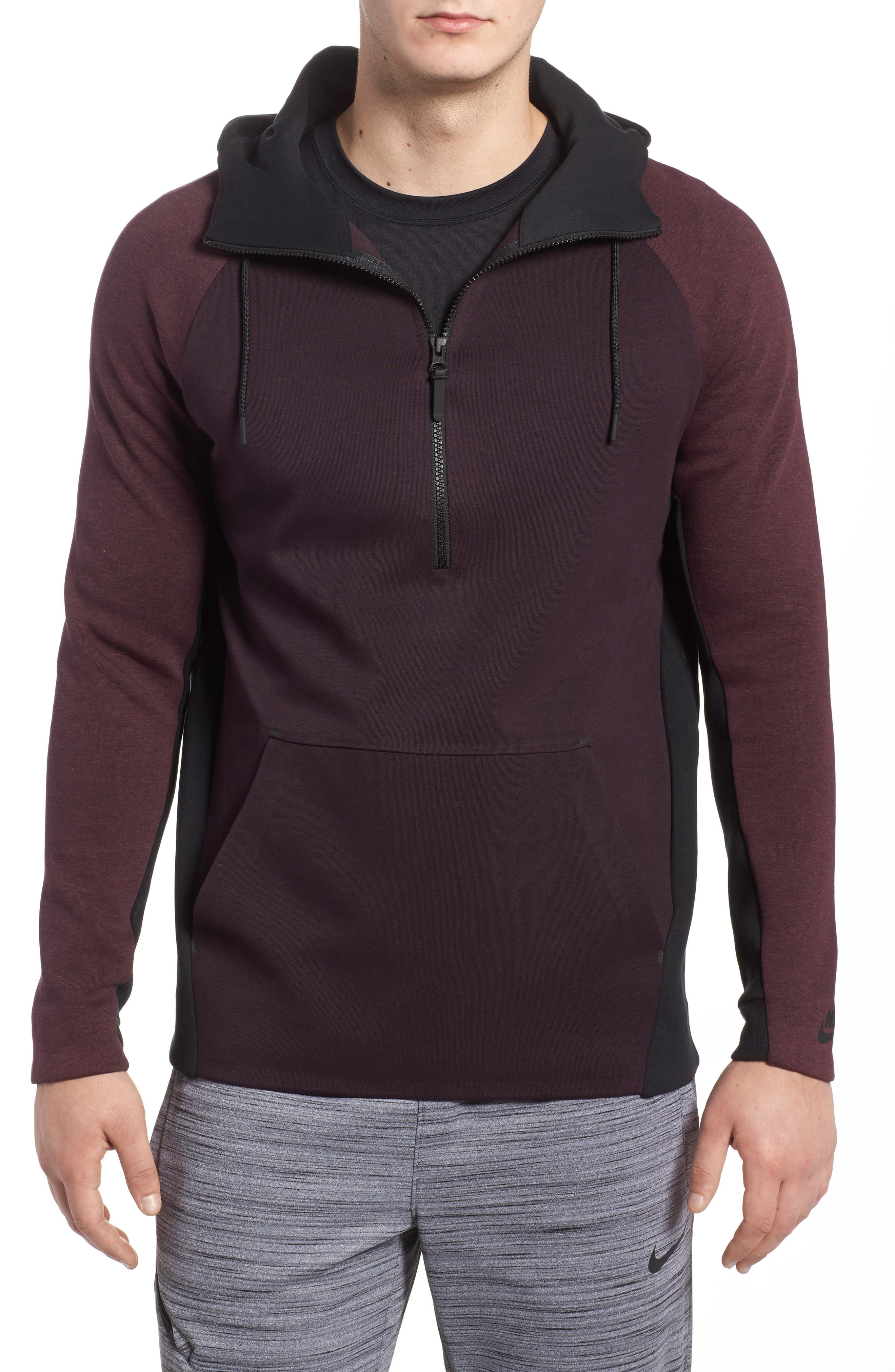 Alternate Image 1 Selected - Nike Half-Zip Pullover Hoodie